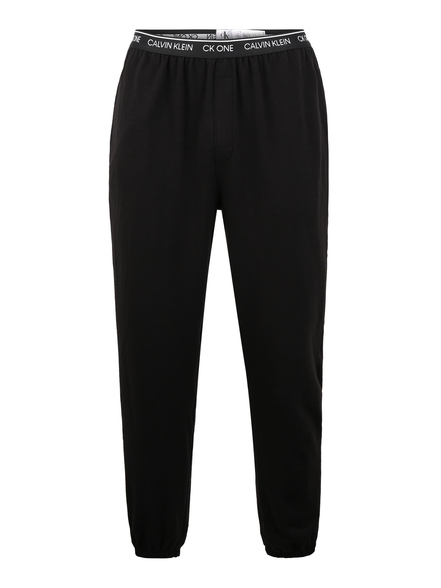 Calvin Klein Underwear Pižaminės kelnės juoda