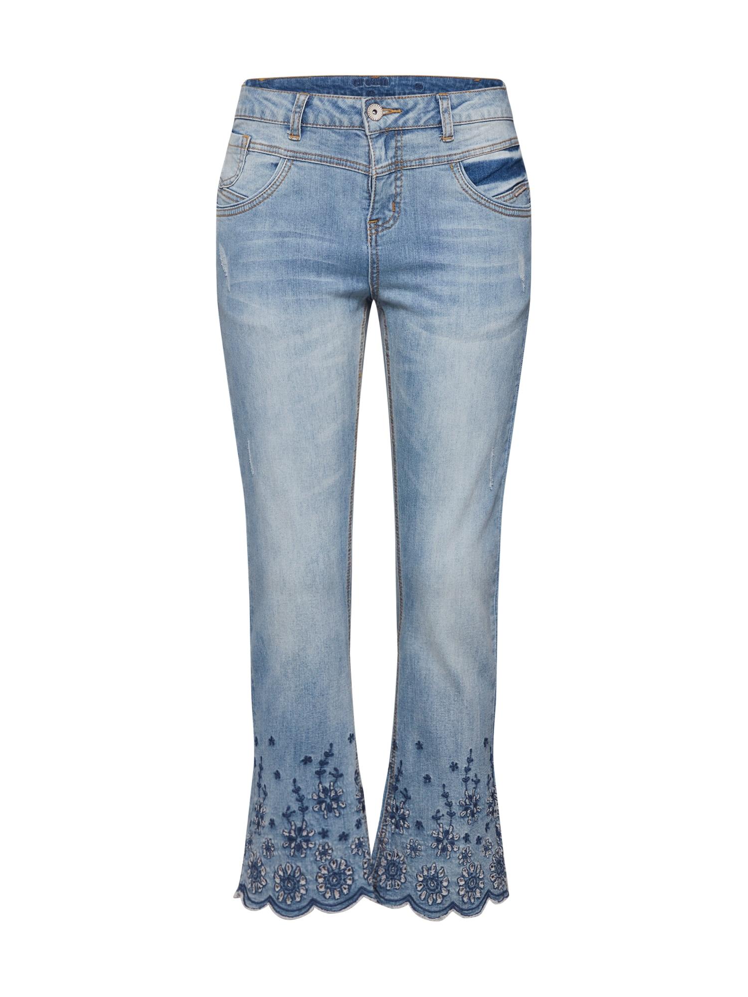 Cream Džinsai 'Bolette' tamsiai (džinso) mėlyna