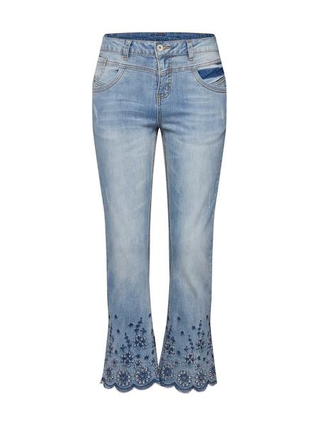 Hosen - Jeans 'Bolette' › Cream › blue denim  - Onlineshop ABOUT YOU