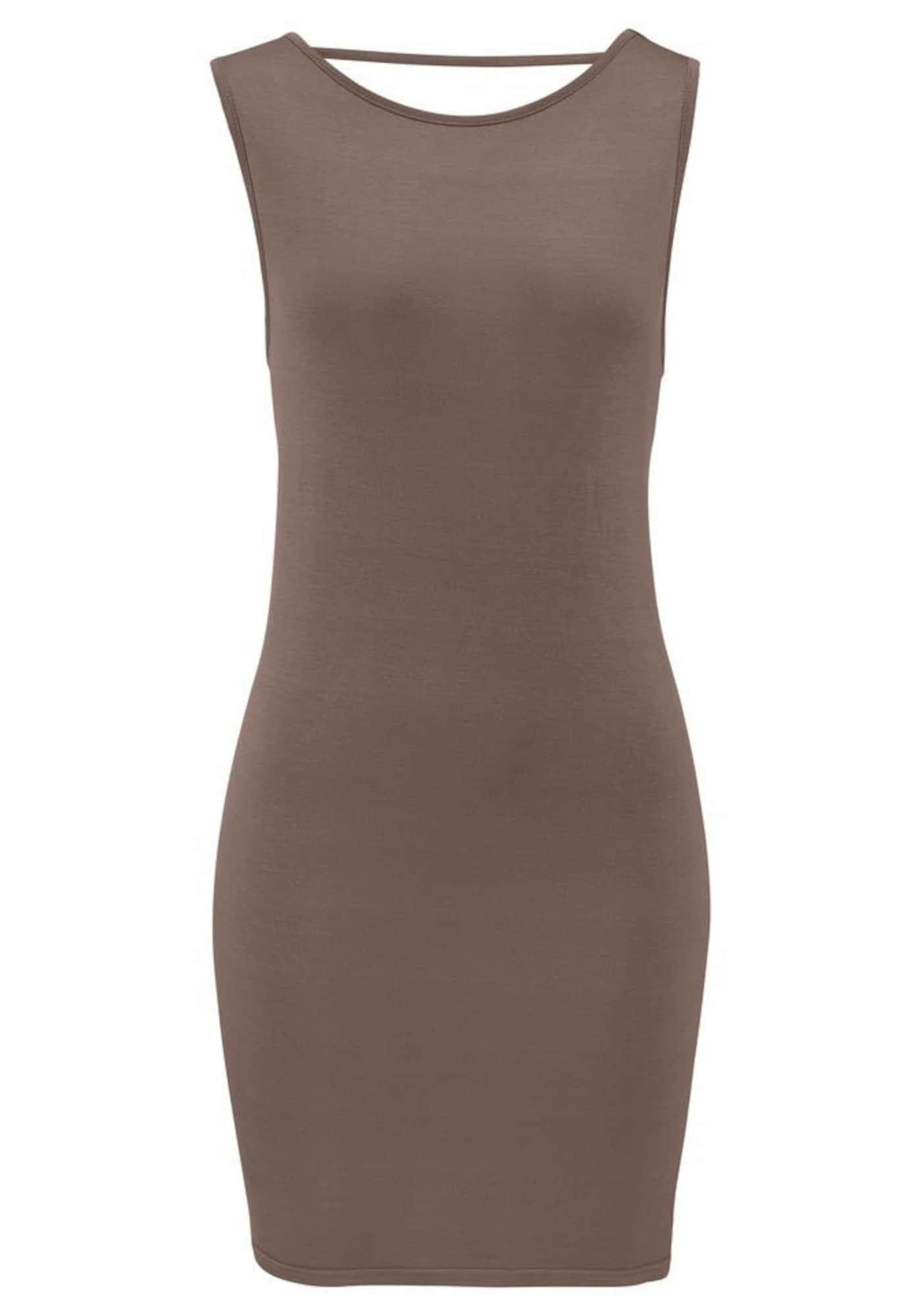 LASCANA Suknelė ruda