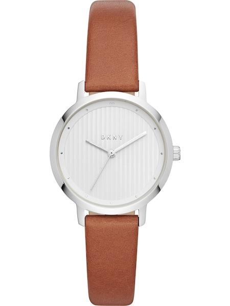 Uhren für Frauen - DKNY Quarzuhr 'THE MODERNIST' braun silber  - Onlineshop ABOUT YOU