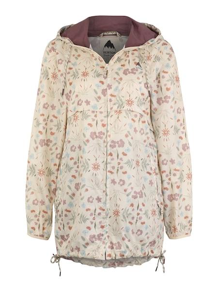 Jacken für Frauen - BURTON Jacke 'Hazlett Packable' creme hellblau rosa  - Onlineshop ABOUT YOU