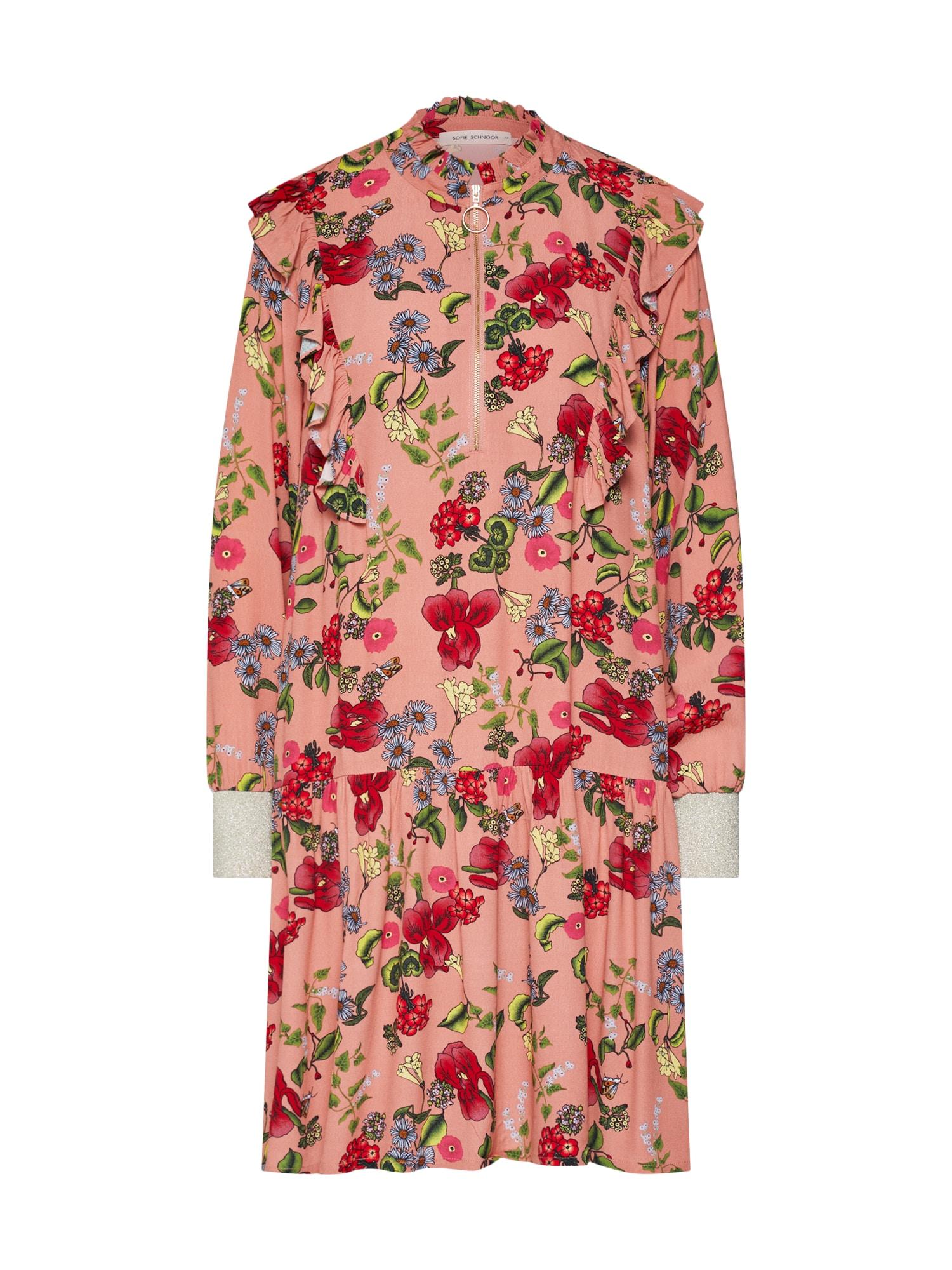 Košilové šaty růžová Sofie Schnoor