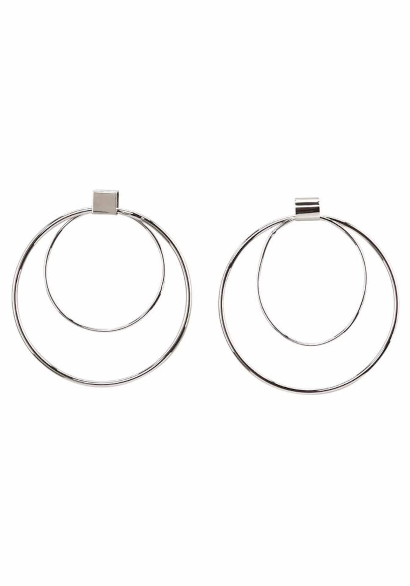 Ohrringe für Frauen - J. Jayz Creolen Set silber  - Onlineshop ABOUT YOU