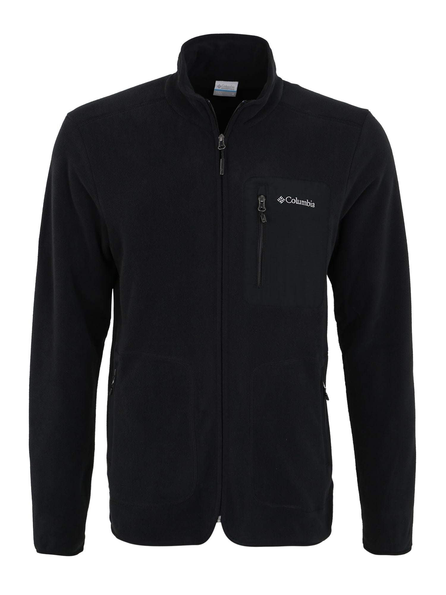 COLUMBIA Funkcinis flisinis džemperis 'Exploration FZ Fleece' juoda