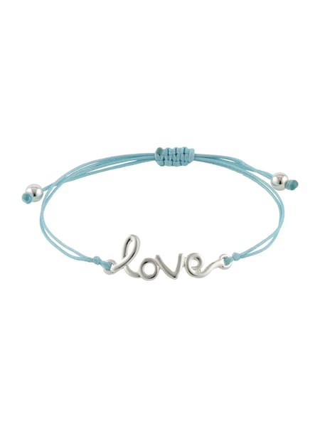 Armbaender - Armband 'Levinia' › ABOUT YOU › türkis silber  - Onlineshop ABOUT YOU
