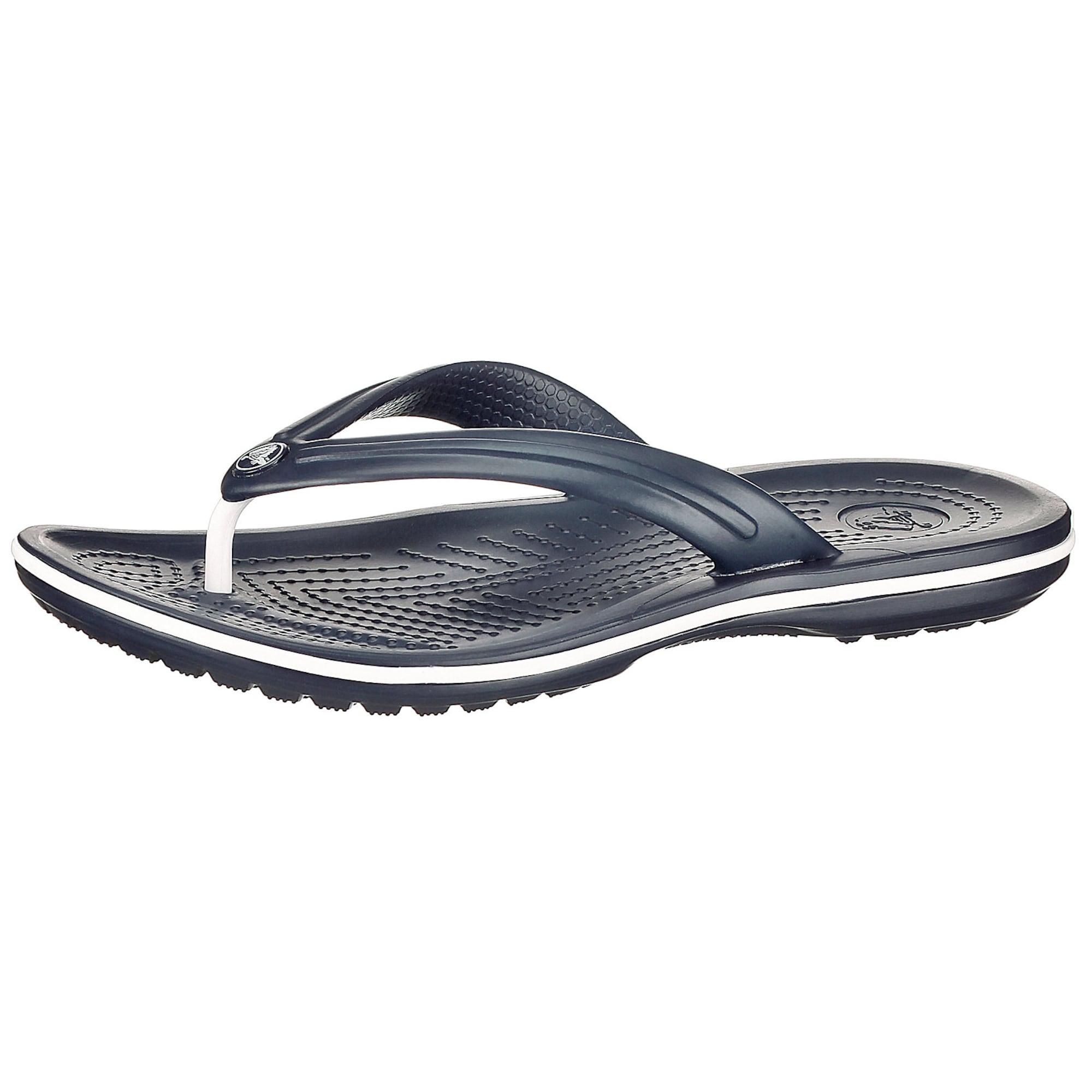 Crocs Žabky 'Flip'  tmavomodrá / biela