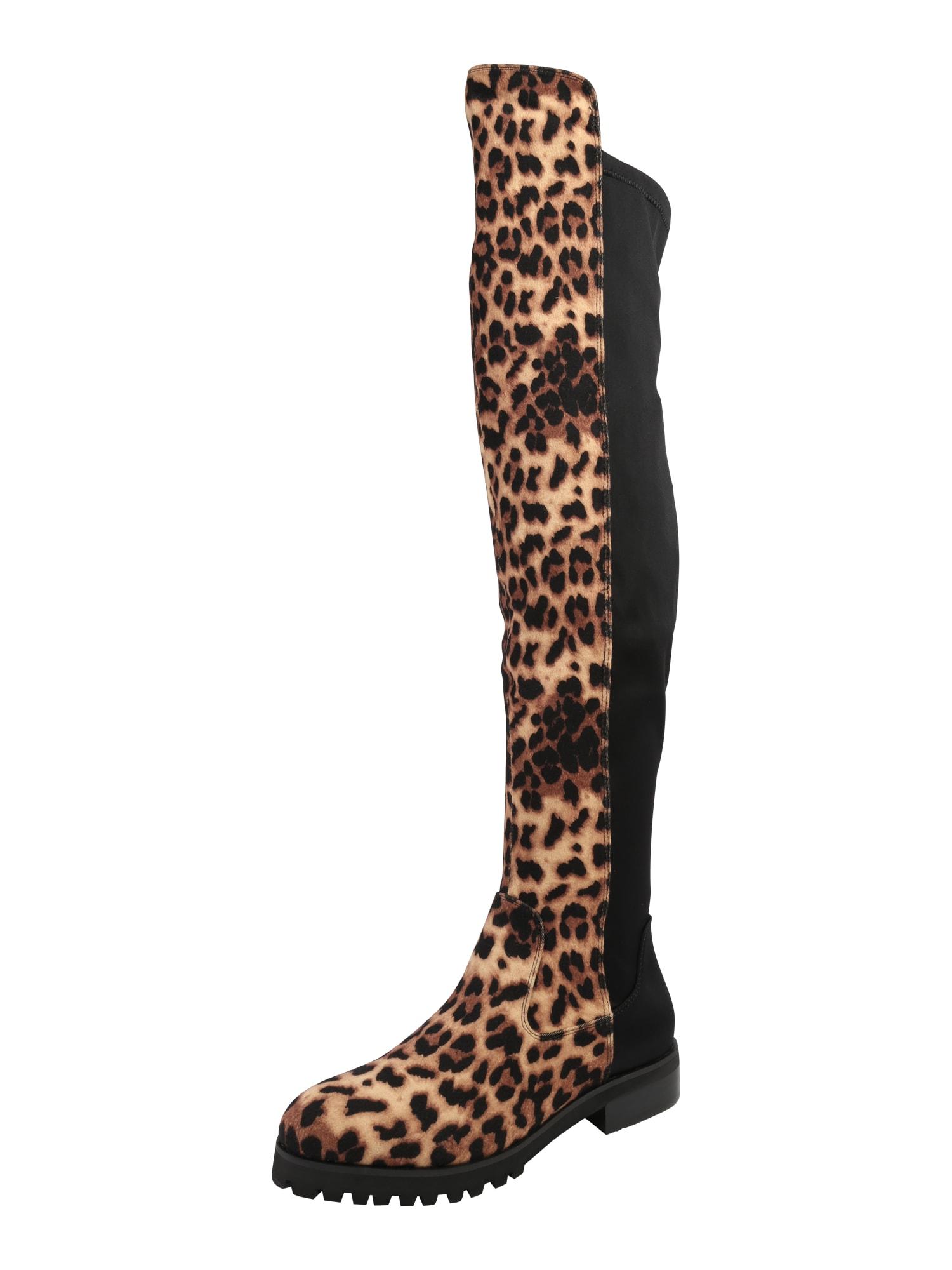 free shipping 6e336 fe2d0 AboutYou Damen Buffalo Stiefel beige, braun, schwarz | 04061516063565
