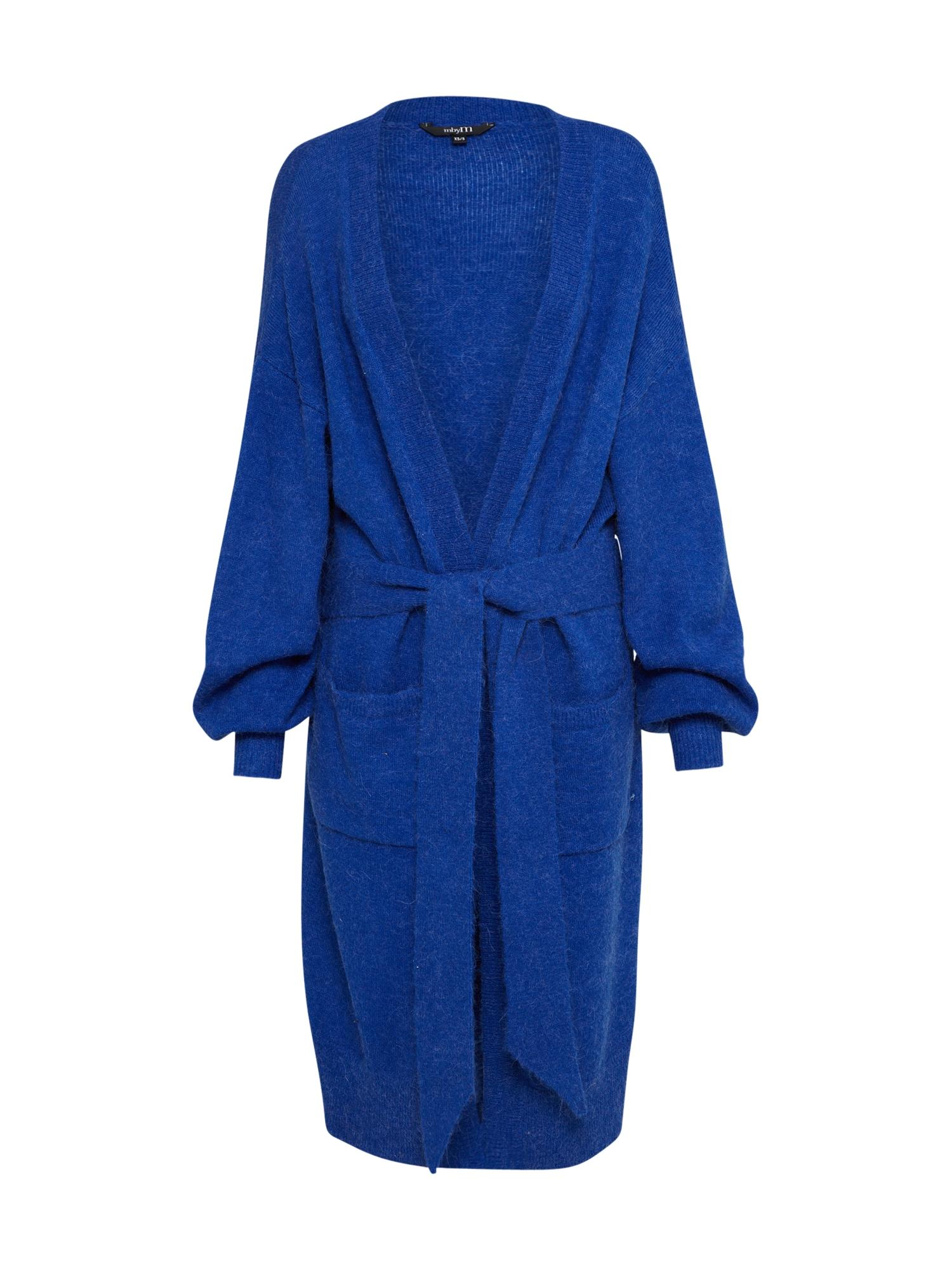 Pletený kabátek Walton modrá Mbym