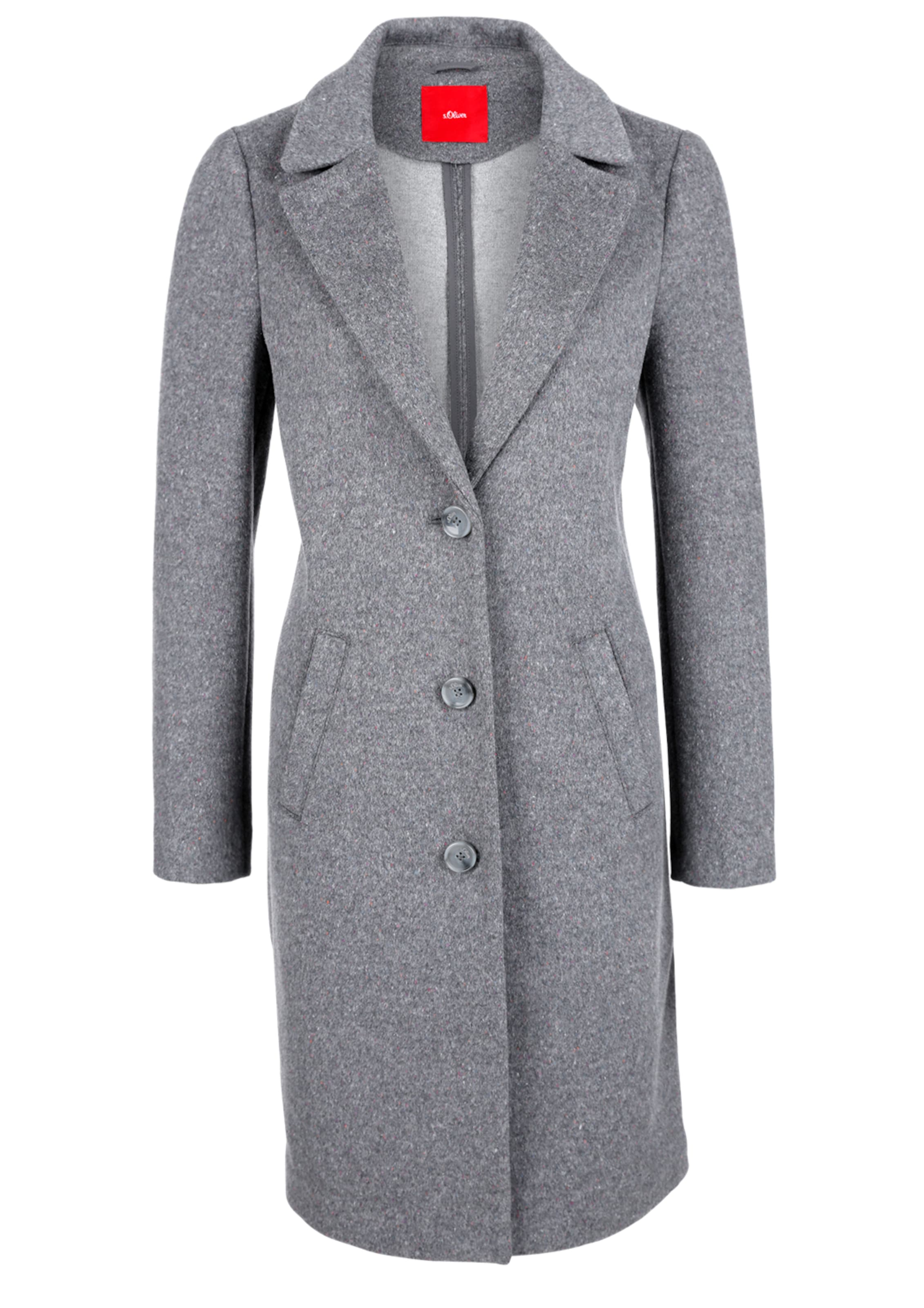 S oliver mantel damen wolle