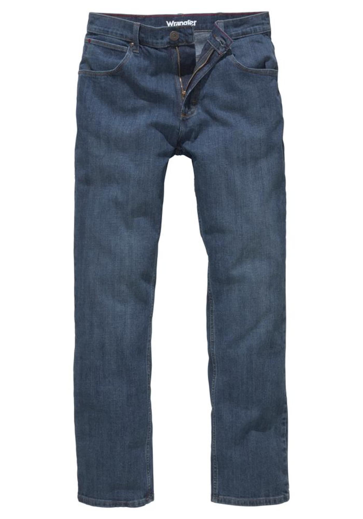 Herren Wrangler Jeans 'Authentic Straight' blau, grün,  weiß, indigo, schwarz   05400852558028