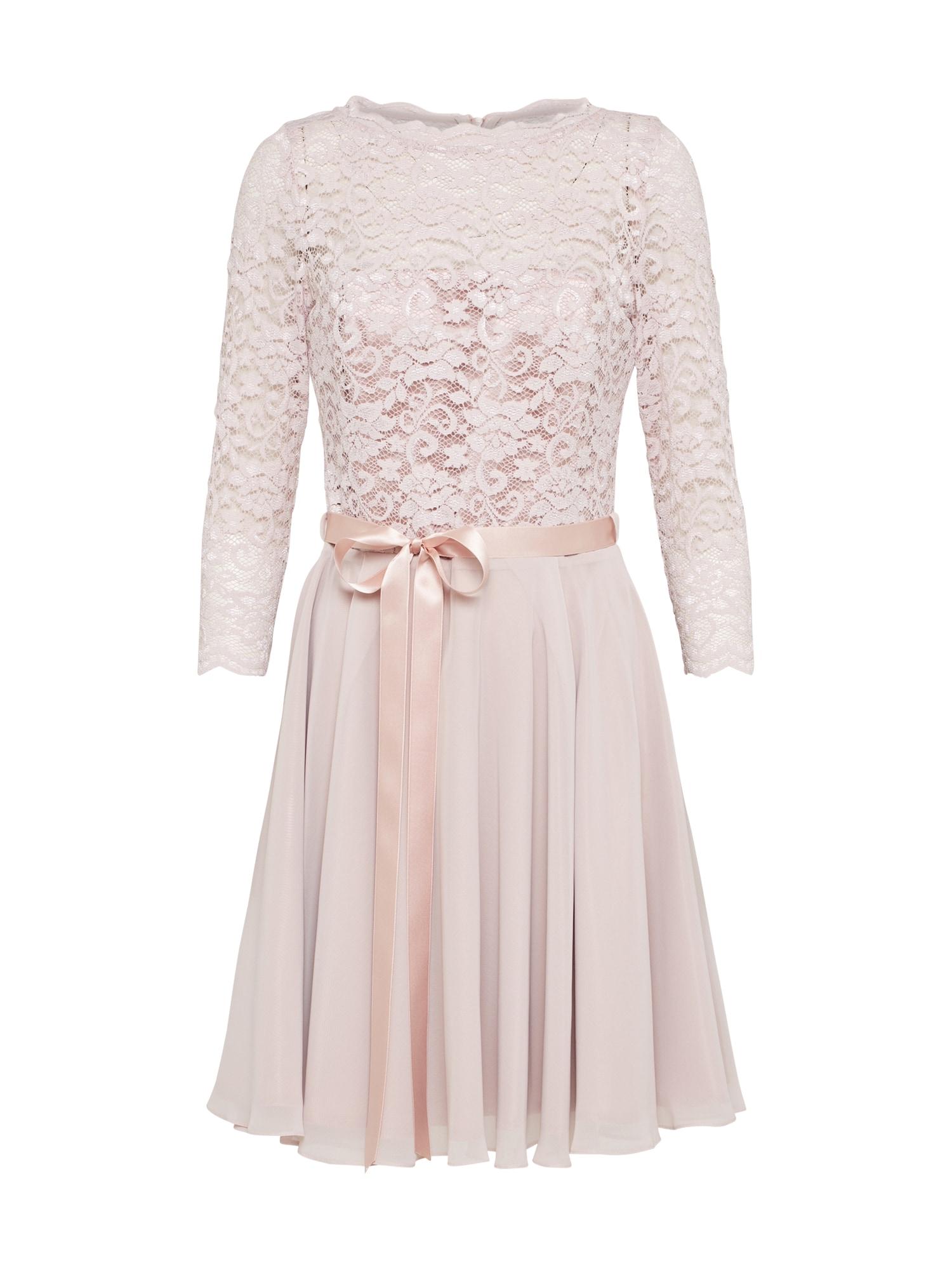 SWING Kokteilinė suknelė rožinė
