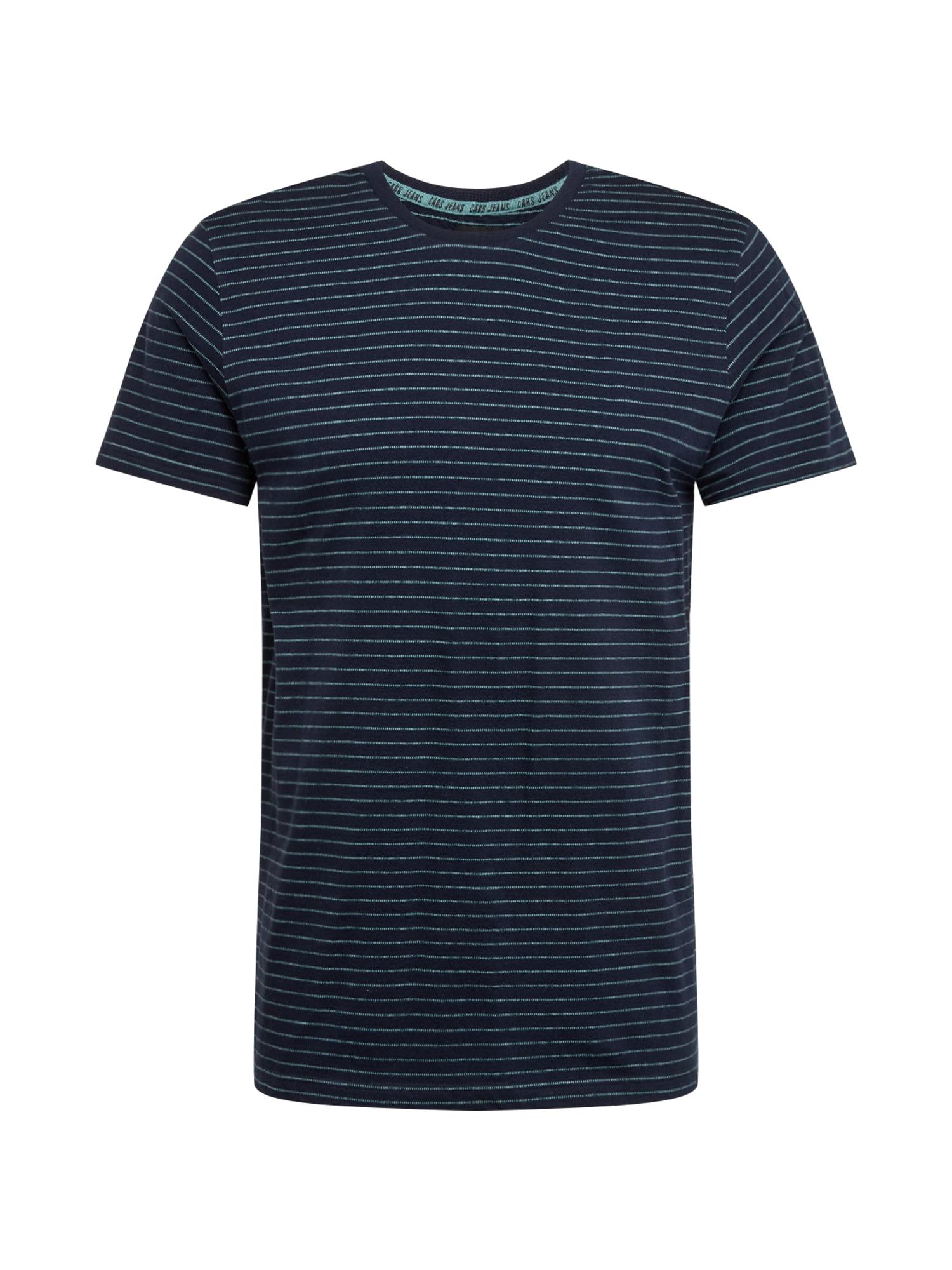 Cars Jeans Marškinėliai 'HOUGH' tamsiai mėlyna