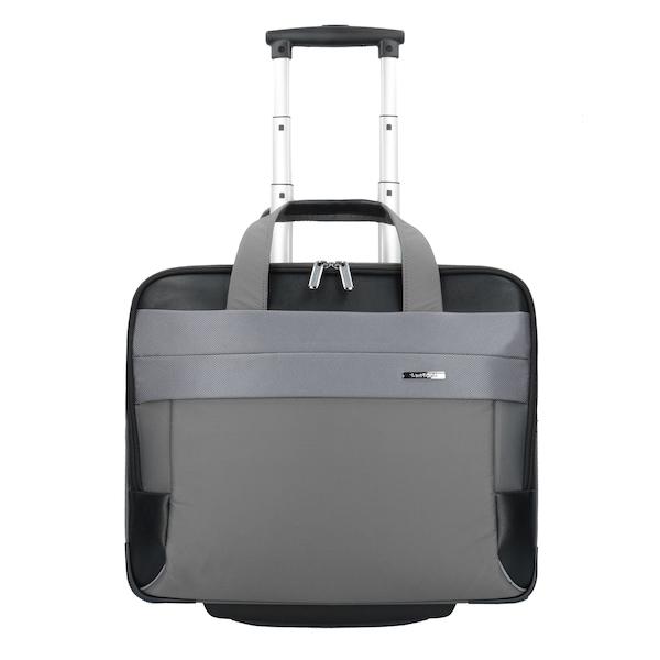 Reisegepaeck für Frauen - SAMSONITE Spectrolite 2.0 2 Rollen Business Trolley 45 cm Laptopfach grau schwarz  - Onlineshop ABOUT YOU