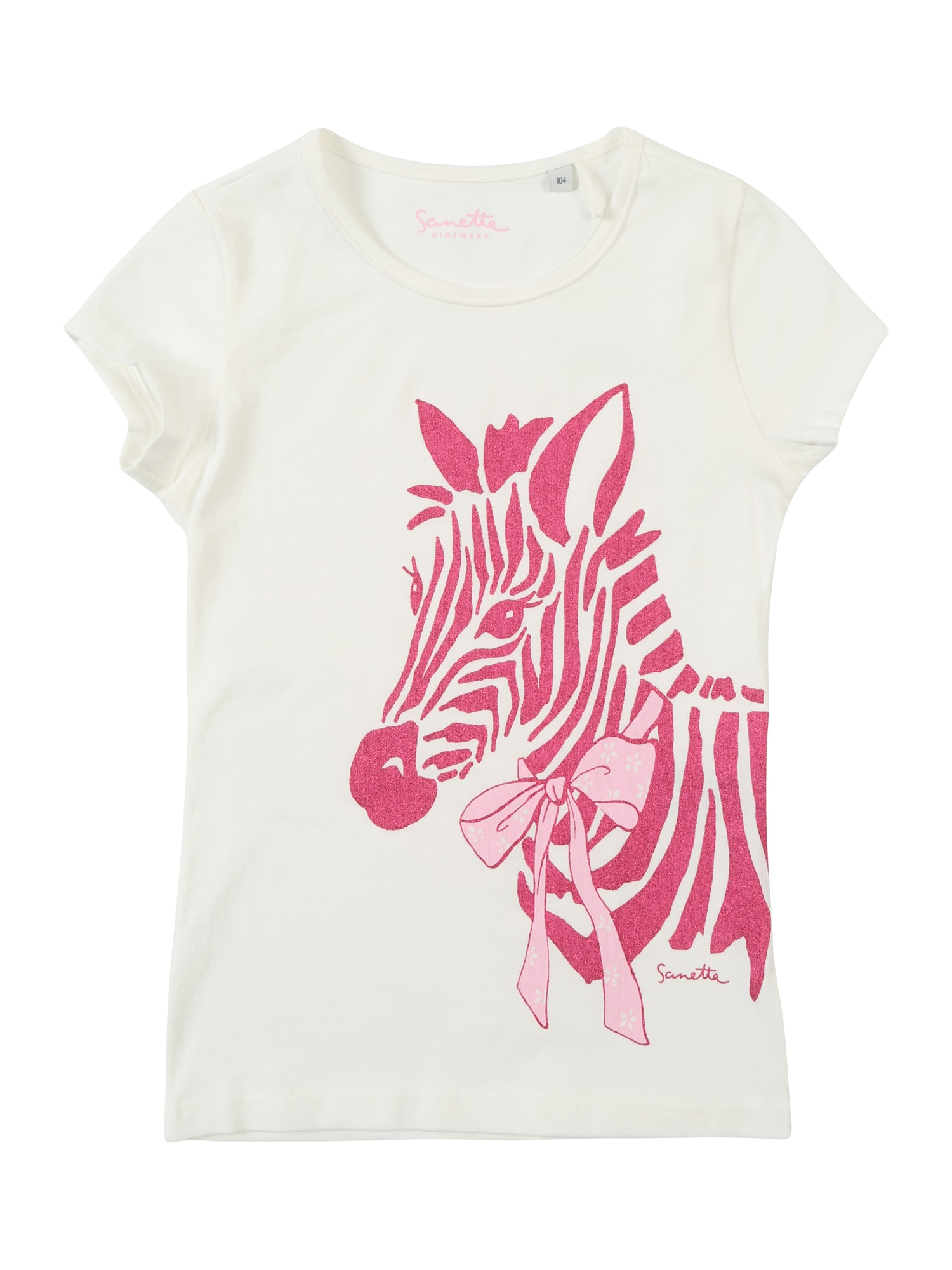 Tričko slonová kost Sanetta Kidswear