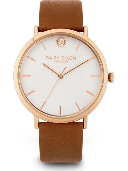 Uhren - Uhr › DAISY DIXON › karamell gold weiß  - Onlineshop ABOUT YOU