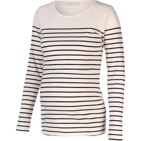 Schwangerschaftsmode - Shirt 'Breton' › JoJo Maman Bébé › schwarz weiß  - Onlineshop ABOUT YOU