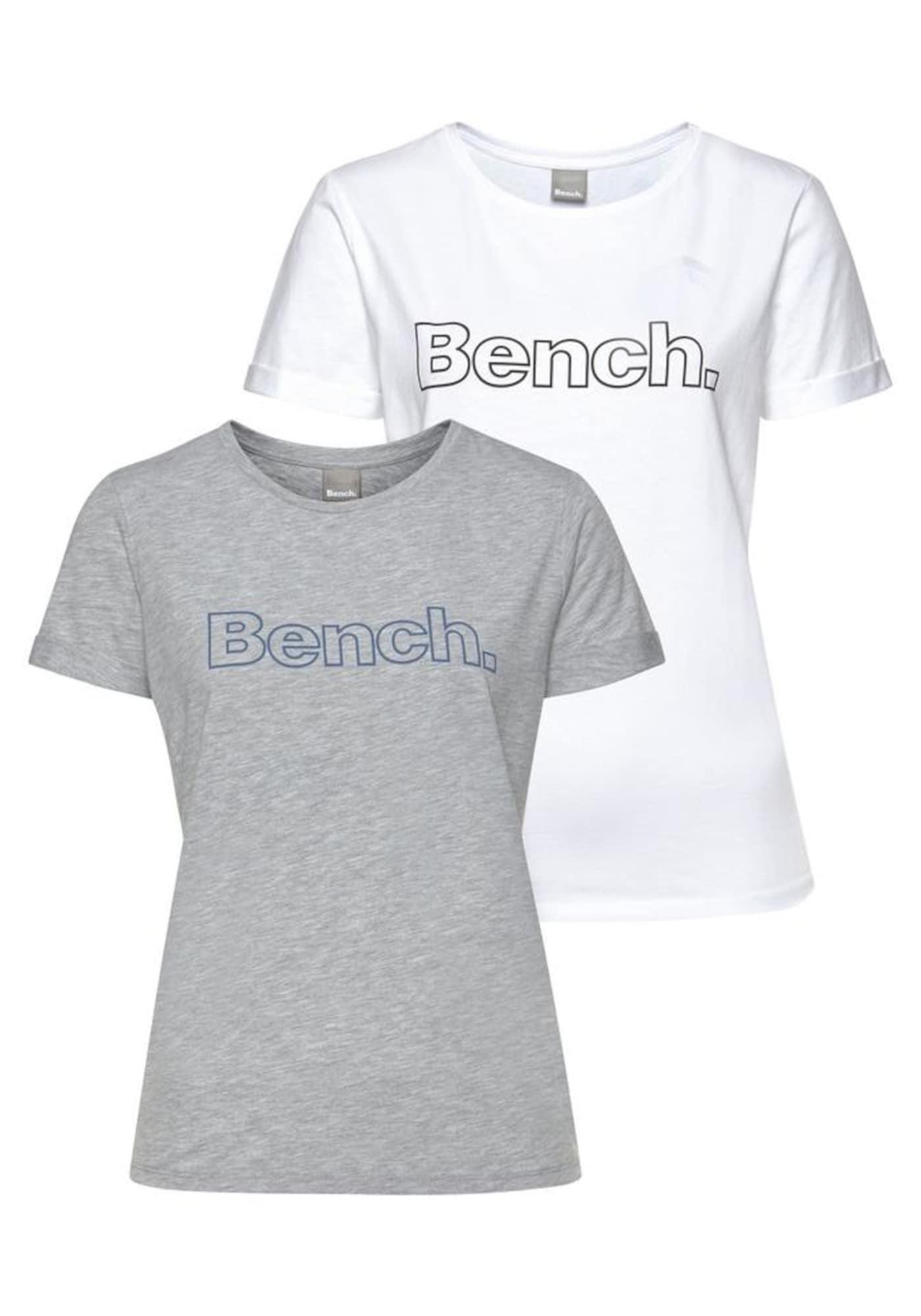 BENCH Marškinėliai balta