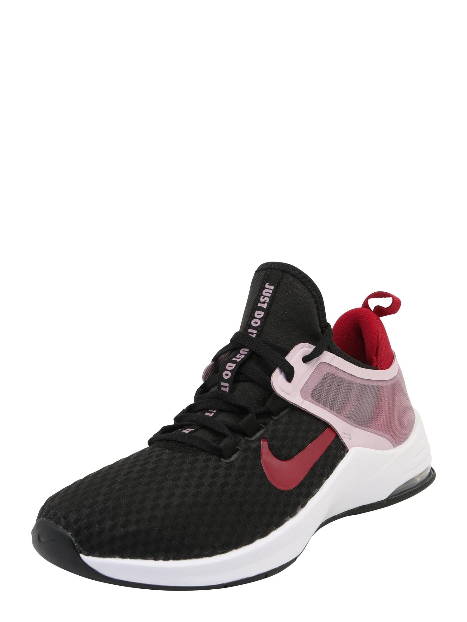 NIKE Sportiniai batai 'Nike Air Max Bella TR 2' raudona / juoda / balta