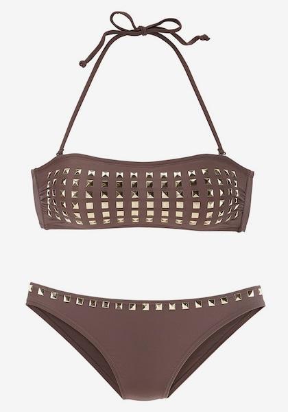 jette bandeau bikini in brokat about you. Black Bedroom Furniture Sets. Home Design Ideas