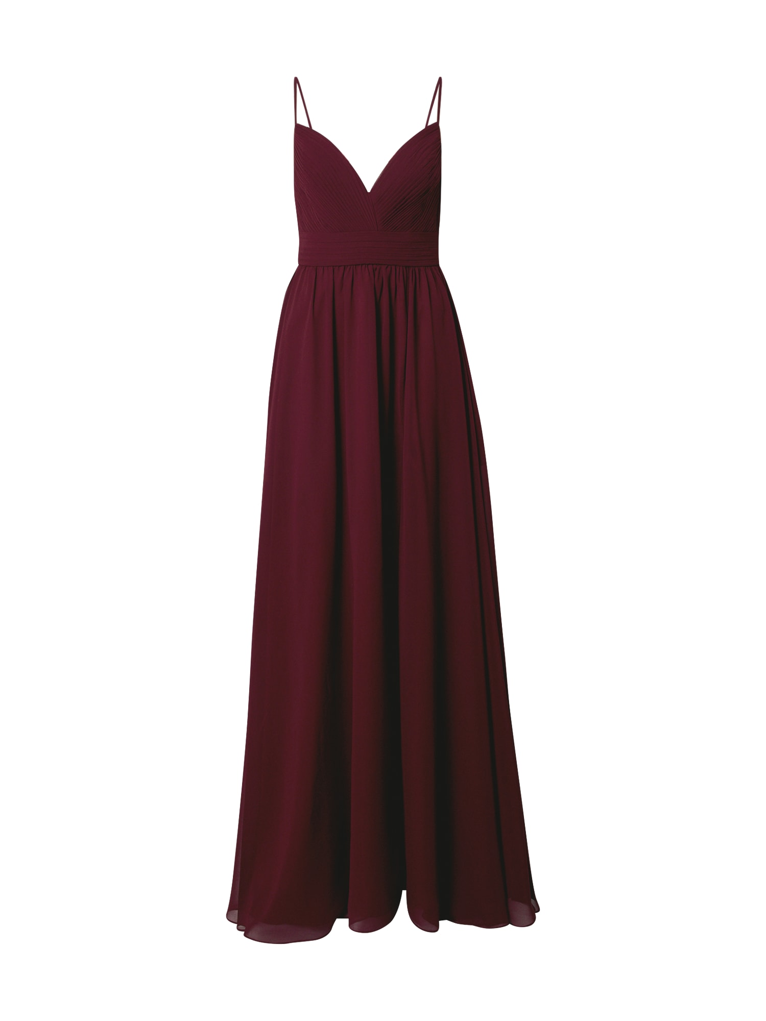 Unique Suknelė vyno raudona spalva