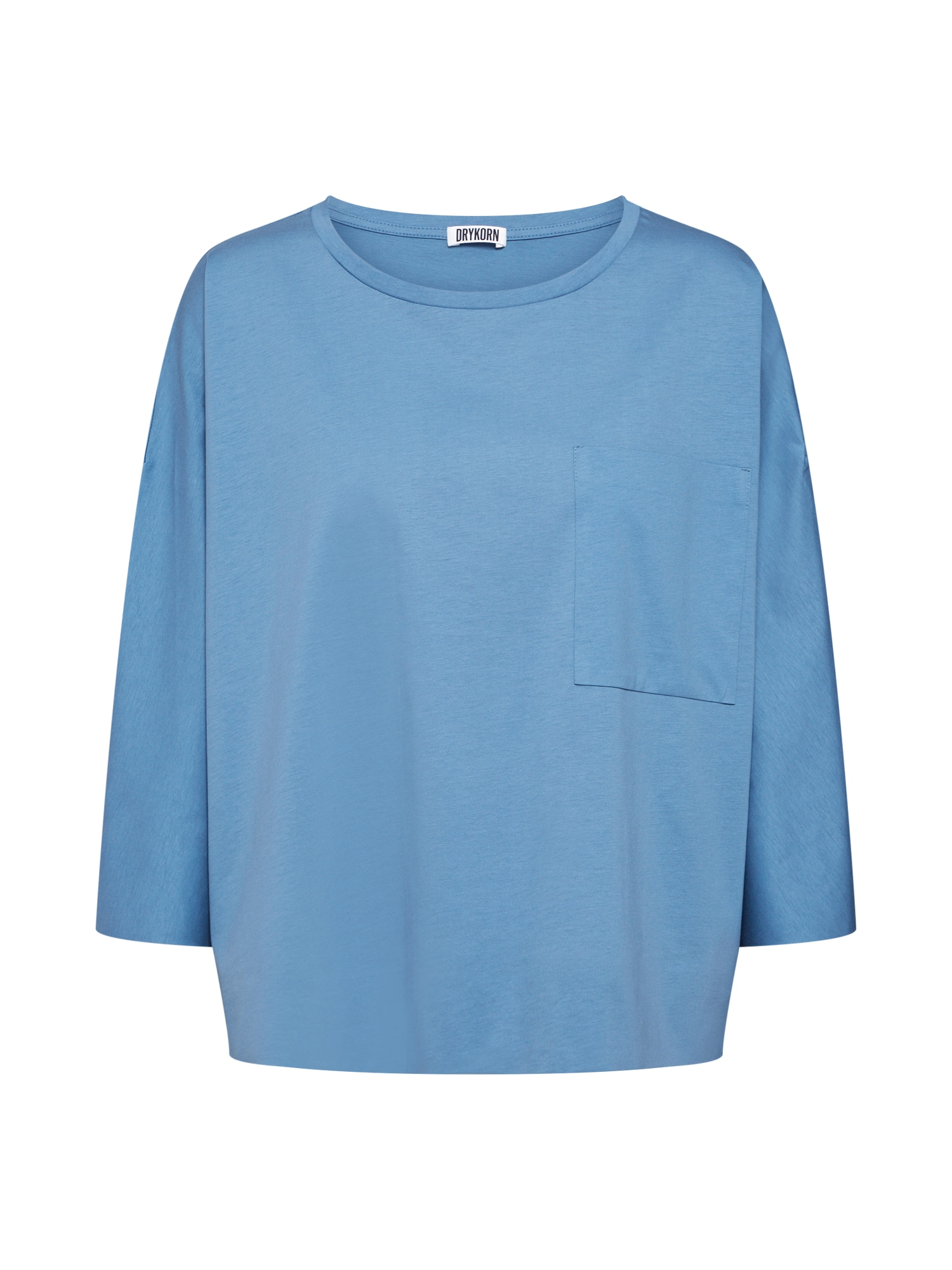 DRYKORN Marškinėliai 'KAORI' šviesiai mėlyna