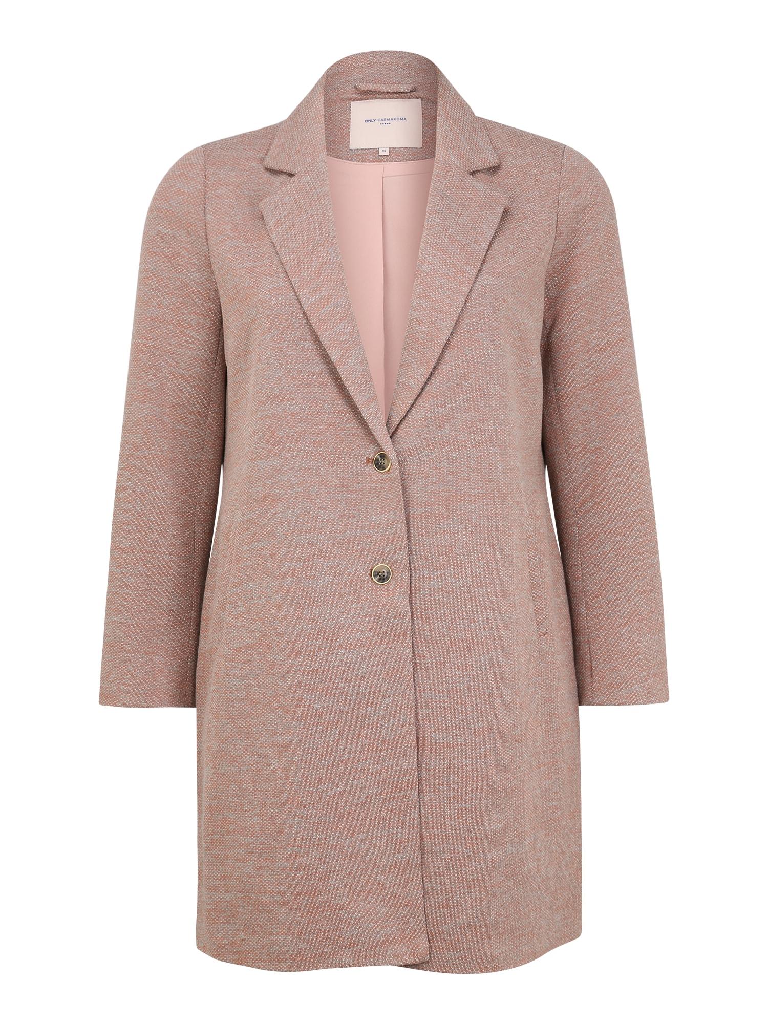 ONLY Carmakoma Rudeninis-žieminis paltas 'CARCARRIE MEL' ruda