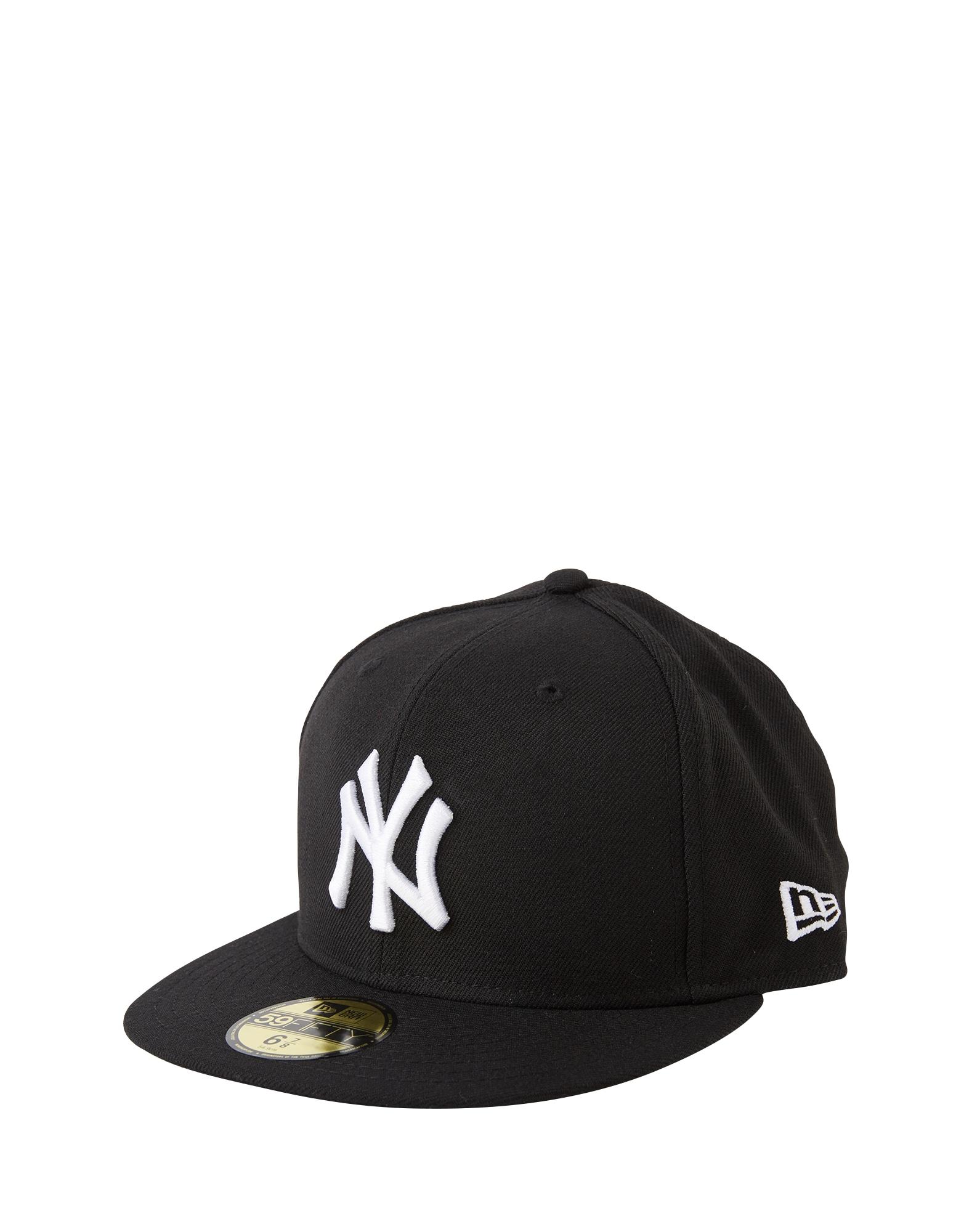 NEW ERA Kepurė '59FIFTY MLB Basic New York Yankees' juoda / balta