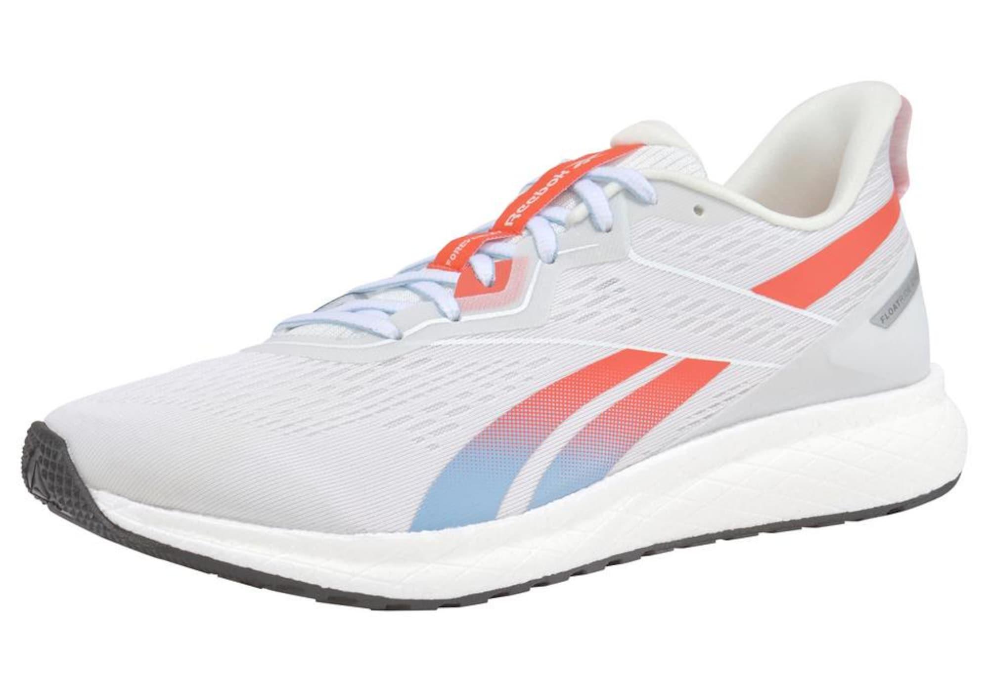 REEBOK Bėgimo batai 'Forever Floatride Energy' balta / šviesiai mėlyna / oranžinė