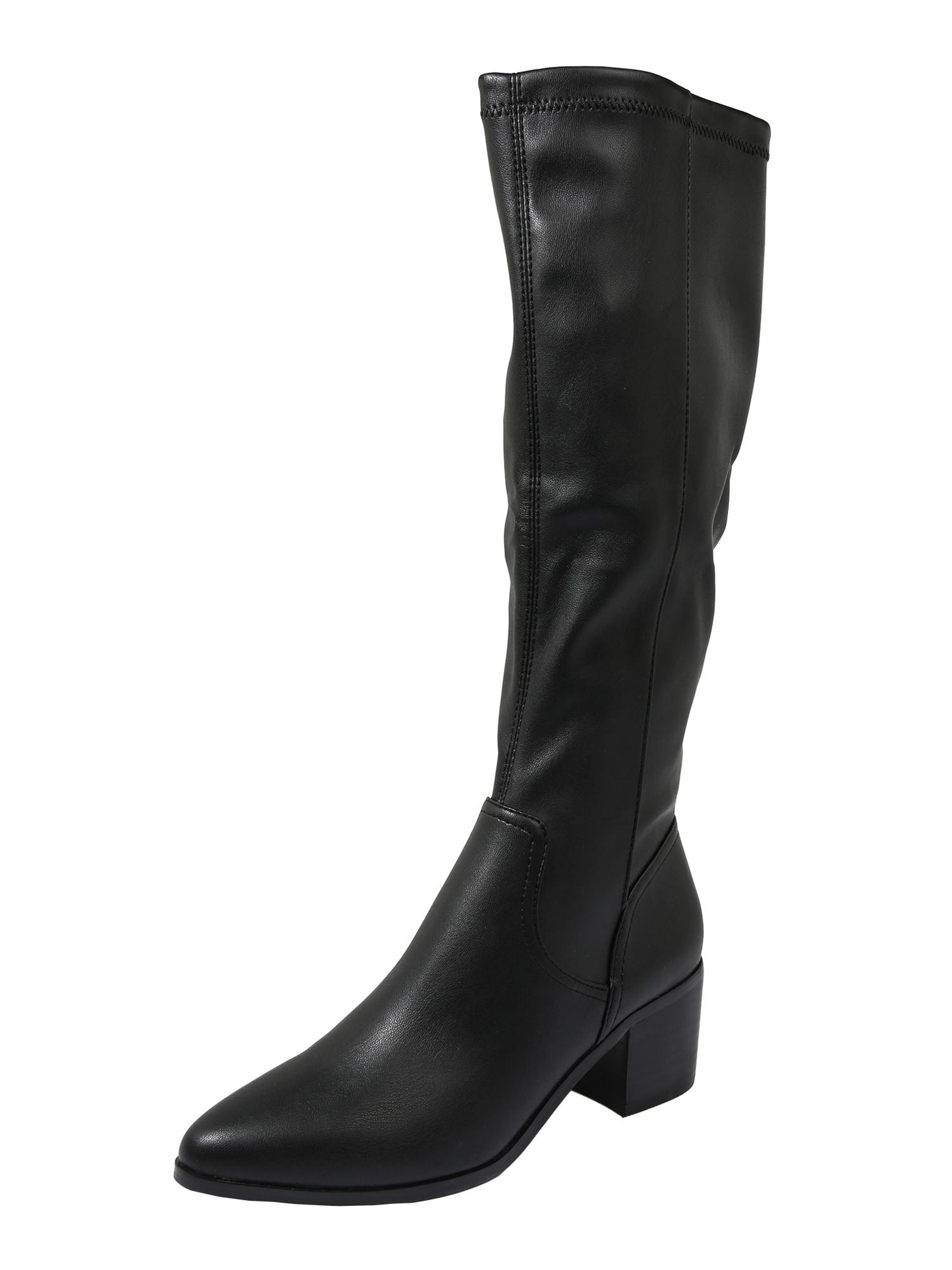 Bianco Auliniai batai su kulniuku 'BIAABBIE' juoda