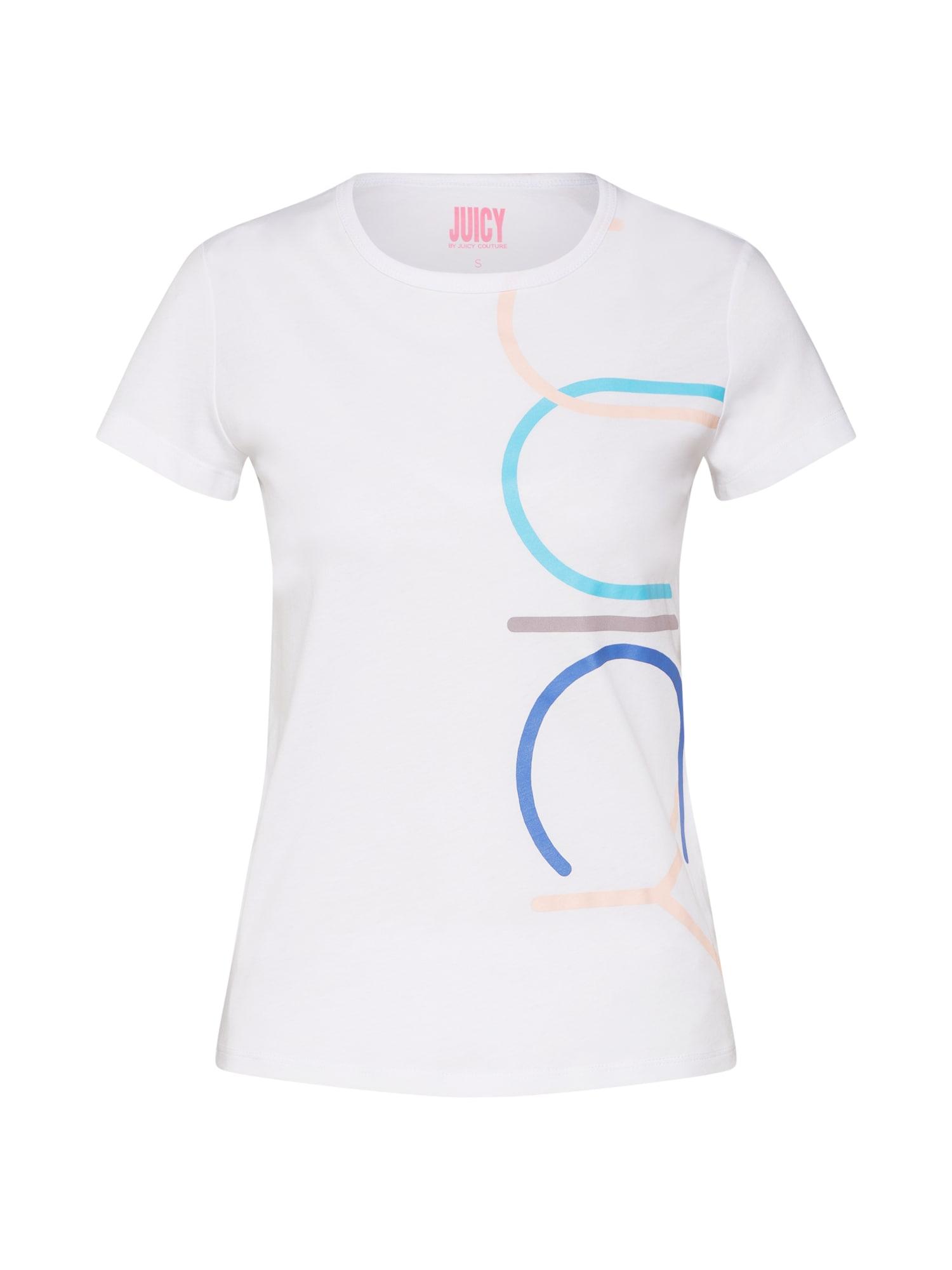 Tričko mix barev bílá Juicy By Juicy Couture
