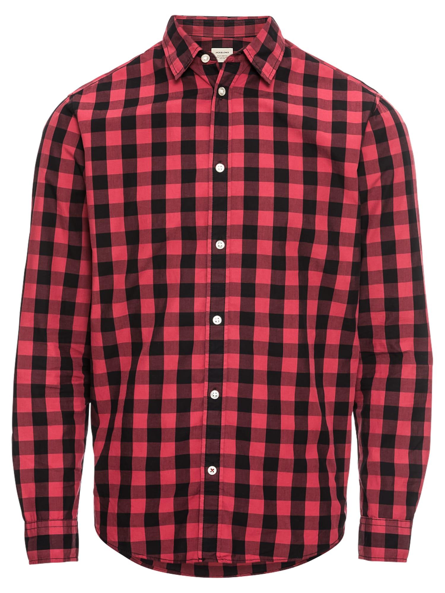 JACK & JONES Dalykiniai marškiniai raudona