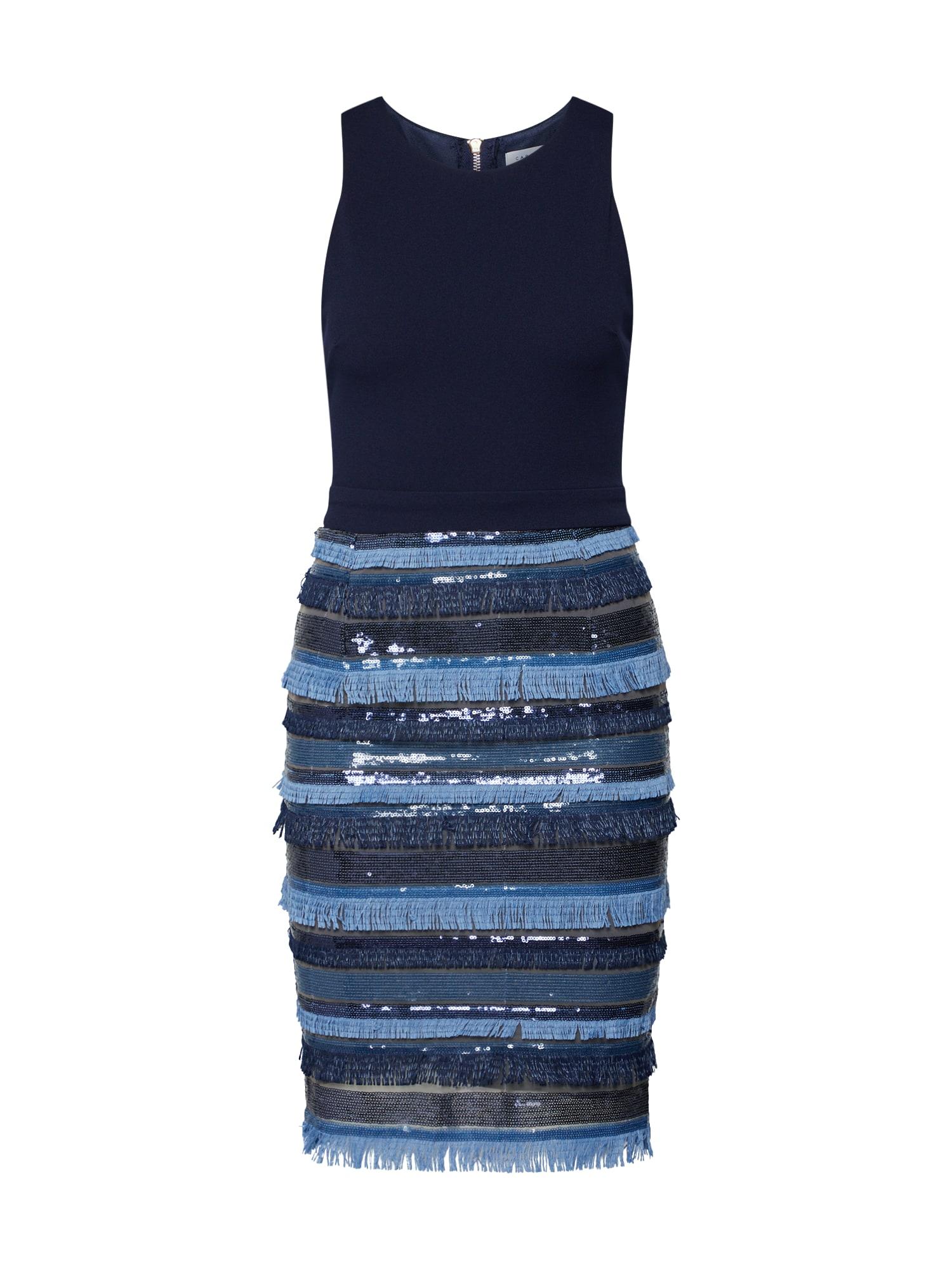 Šaty námořnická modř Carolina Cavour