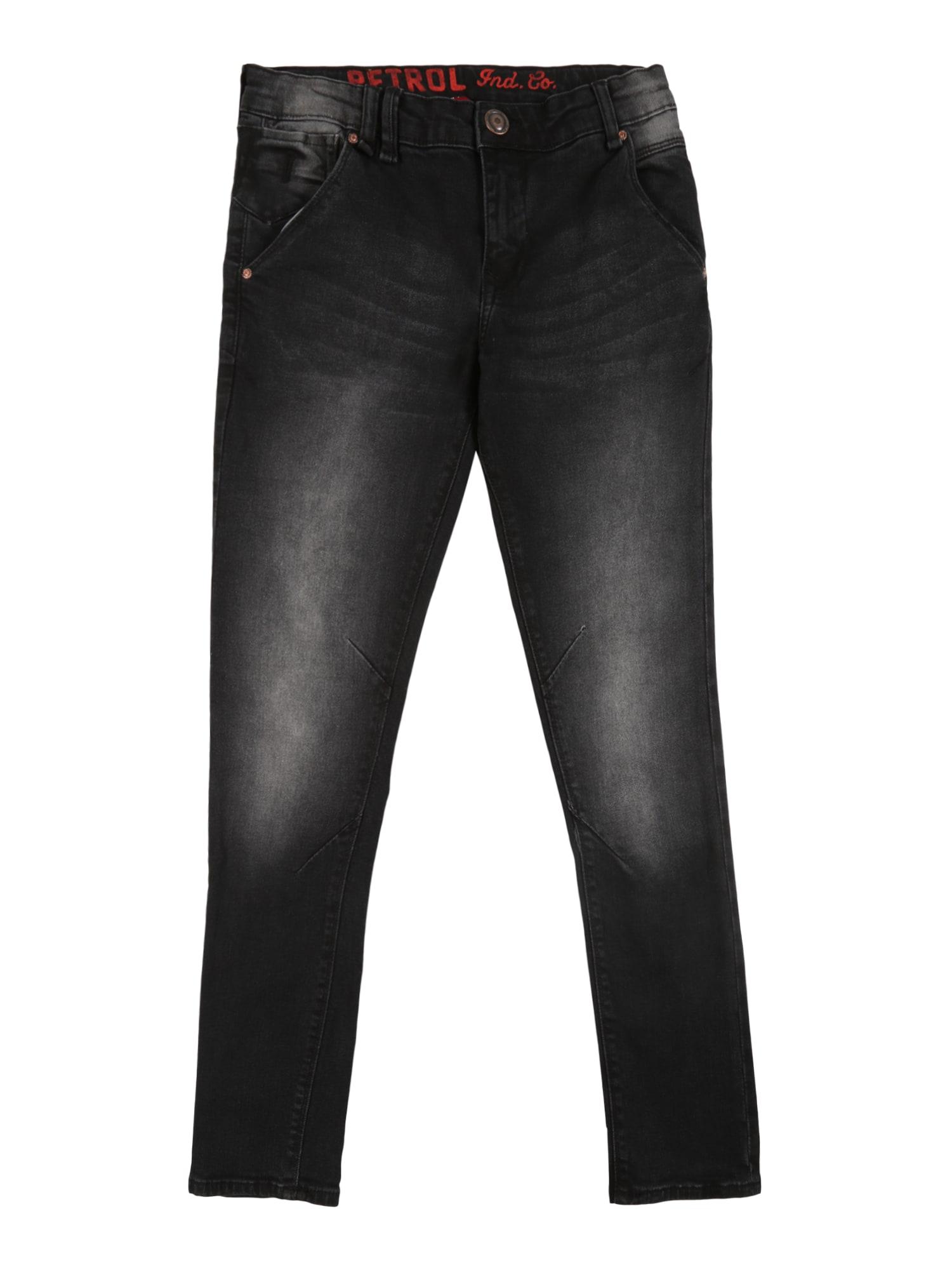 Petrol Industries Džinsai 'Stingray' juodo džinso spalva