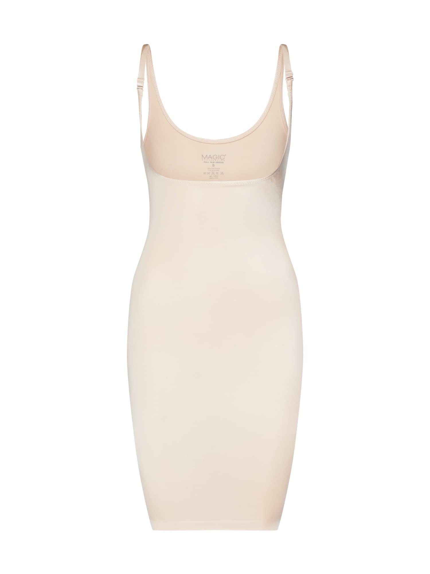 MAGIC Bodyfashion Korsetinė suknelė smėlio / balta