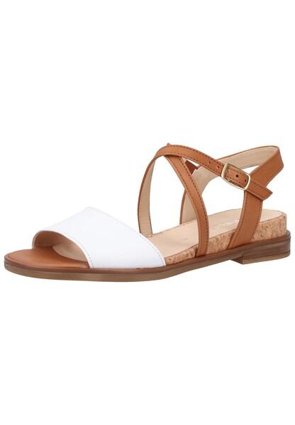 Sandalen für Frauen - GABOR Sandale hellbraun weiß  - Onlineshop ABOUT YOU