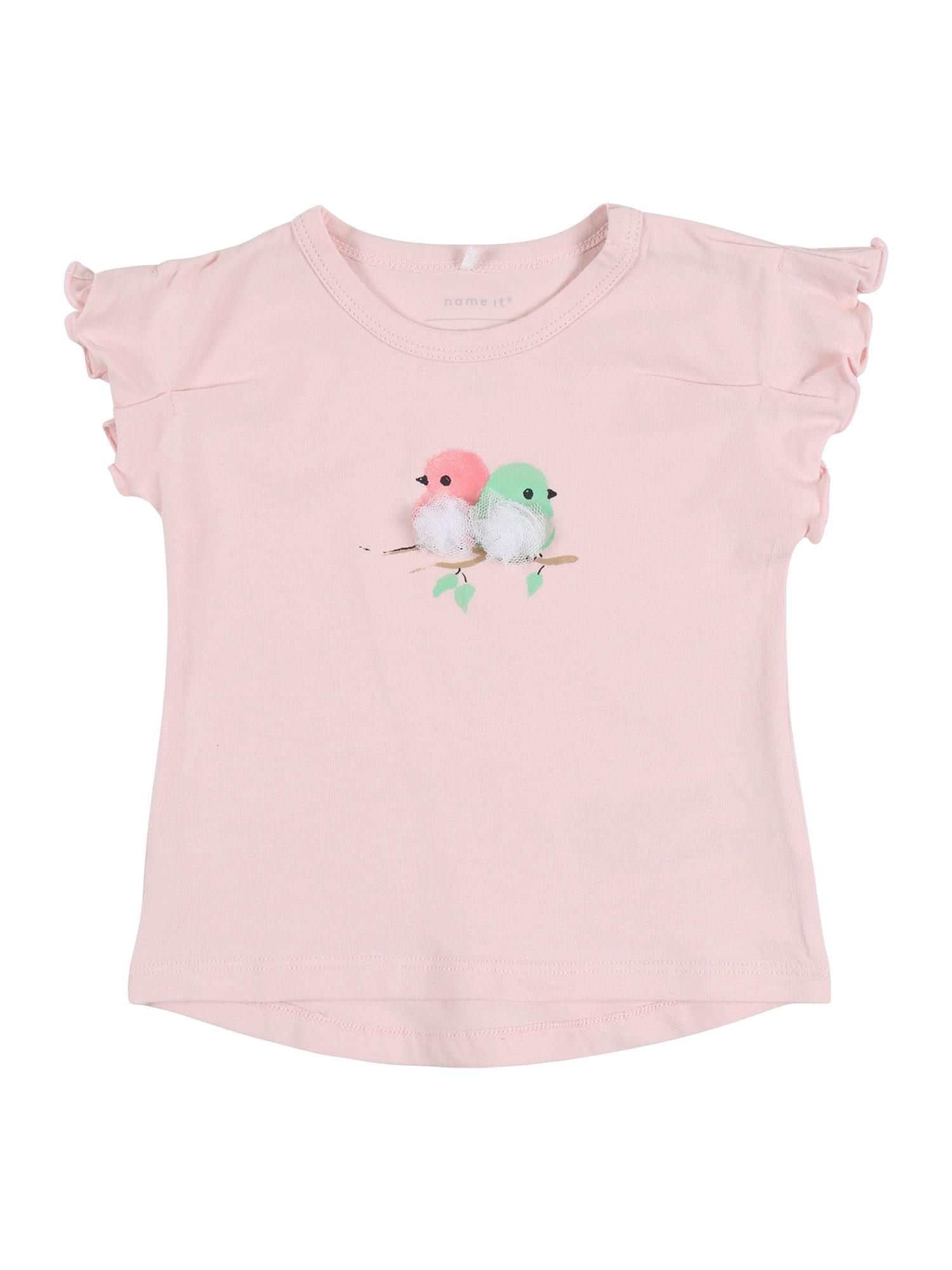 NAME IT Marškinėliai 'HARMONY' rožių spalva