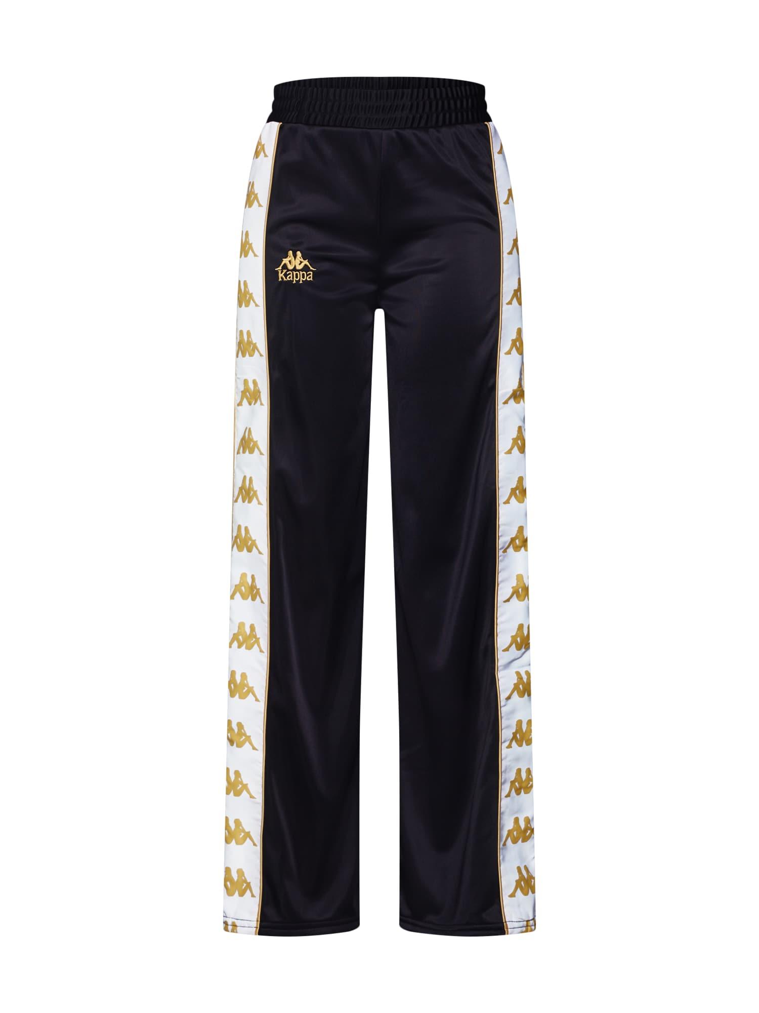 Kalhoty EILEEN zlatá černá bílá KAPPA