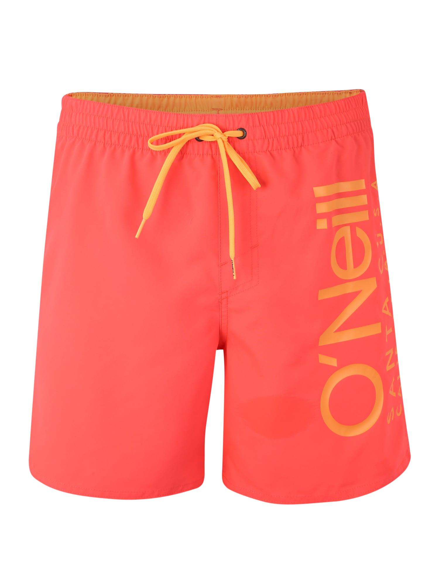 ONEILL Sportovní plavky PM ORIGINAL CALI oranžová pink O'NEILL