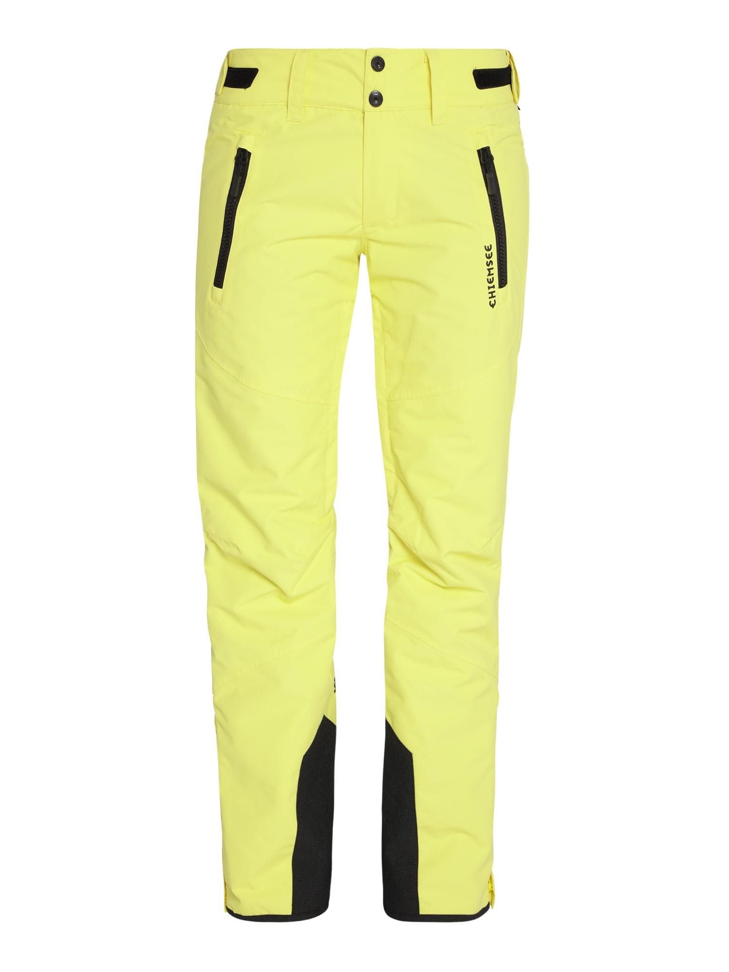 CHIEMSEE Sportinės kelnės geltona
