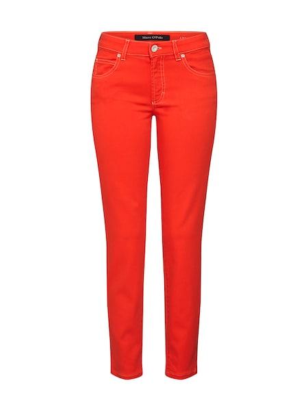 Hosen für Frauen - Marc O'Polo Jeans 'Lulea' rot  - Onlineshop ABOUT YOU