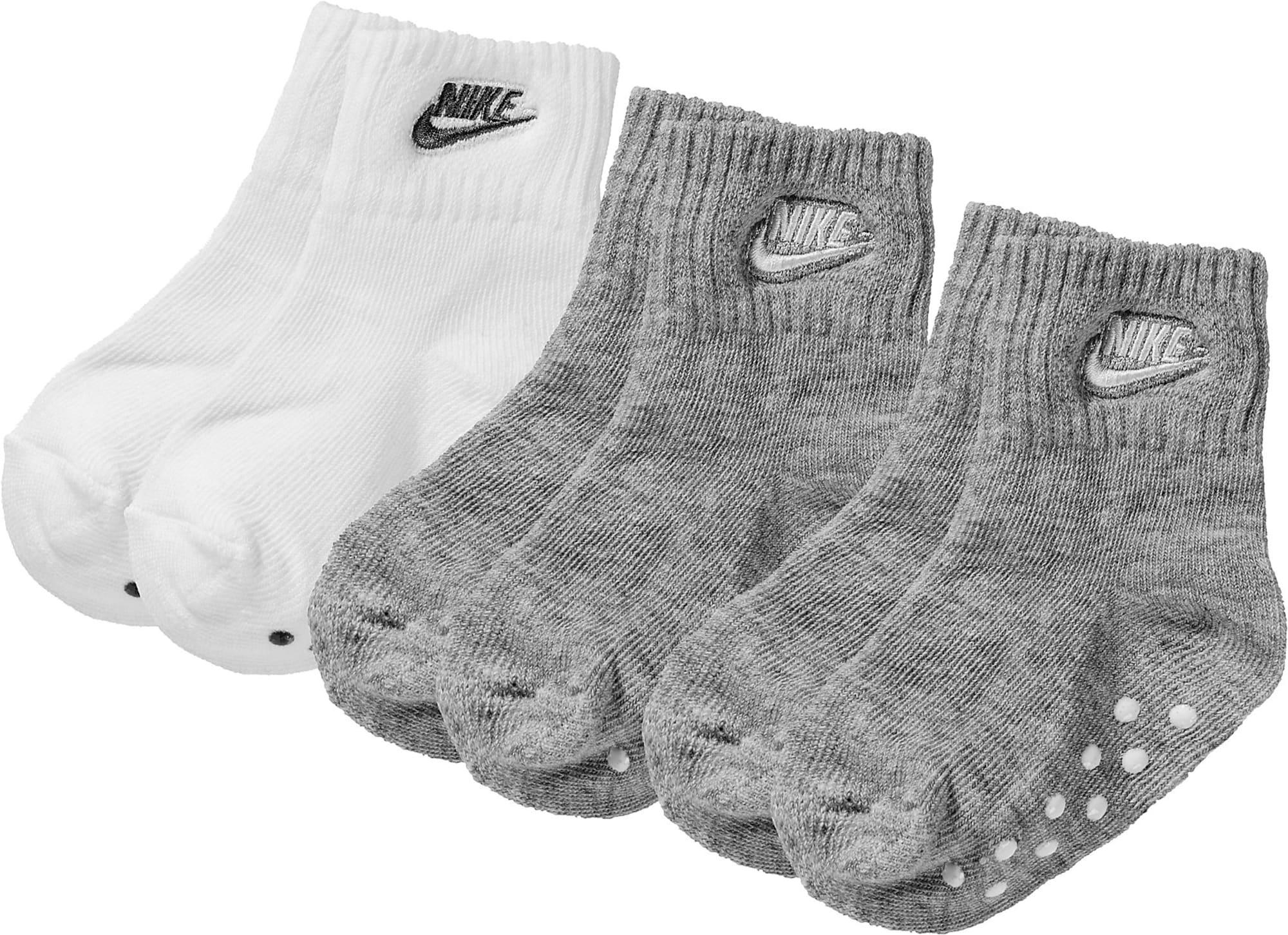 Nike Sportswear Kojinės pilka / balta