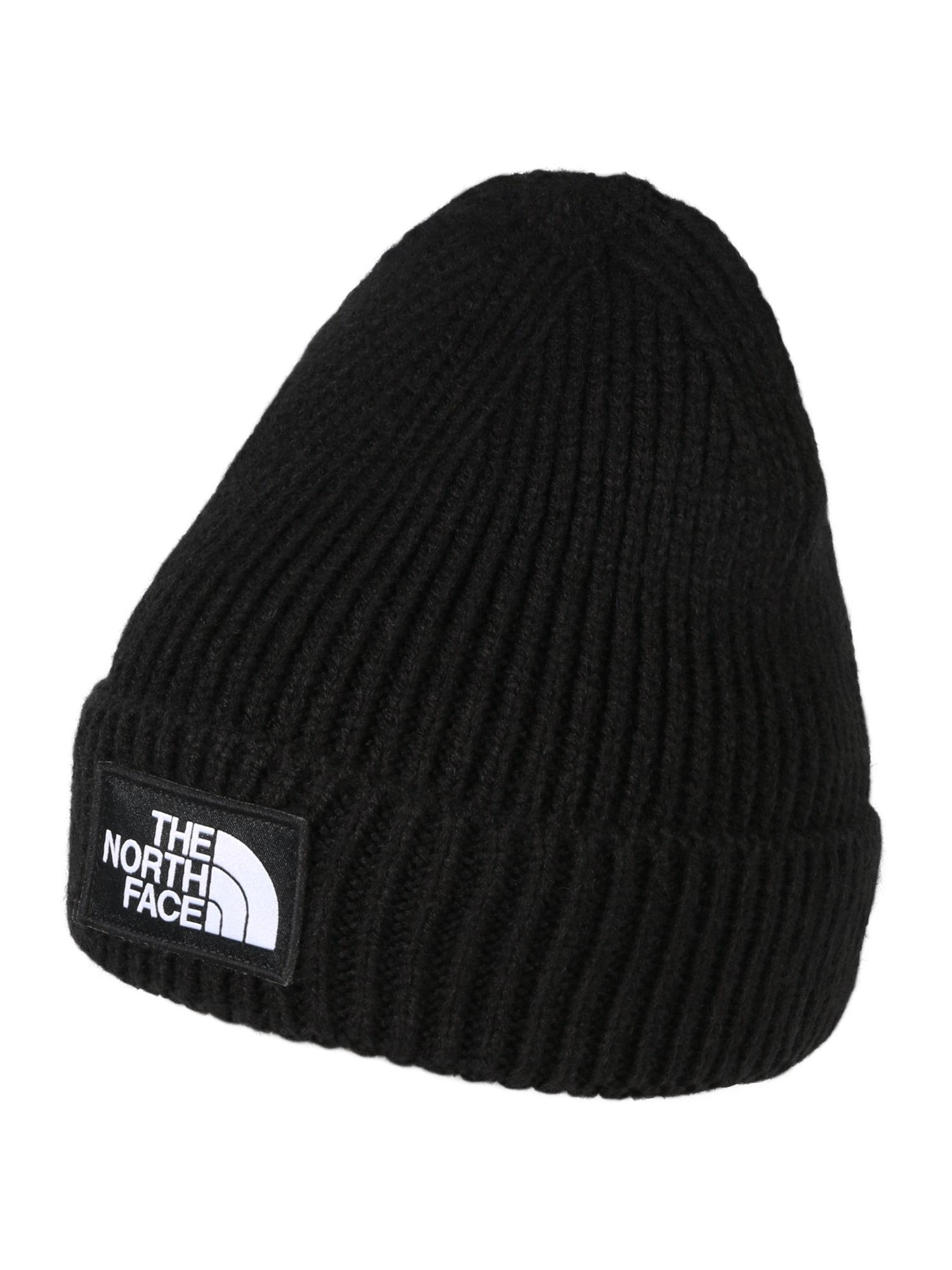 THE NORTH FACE Športová čiapka 'Logo Box Cuffed'  čierna