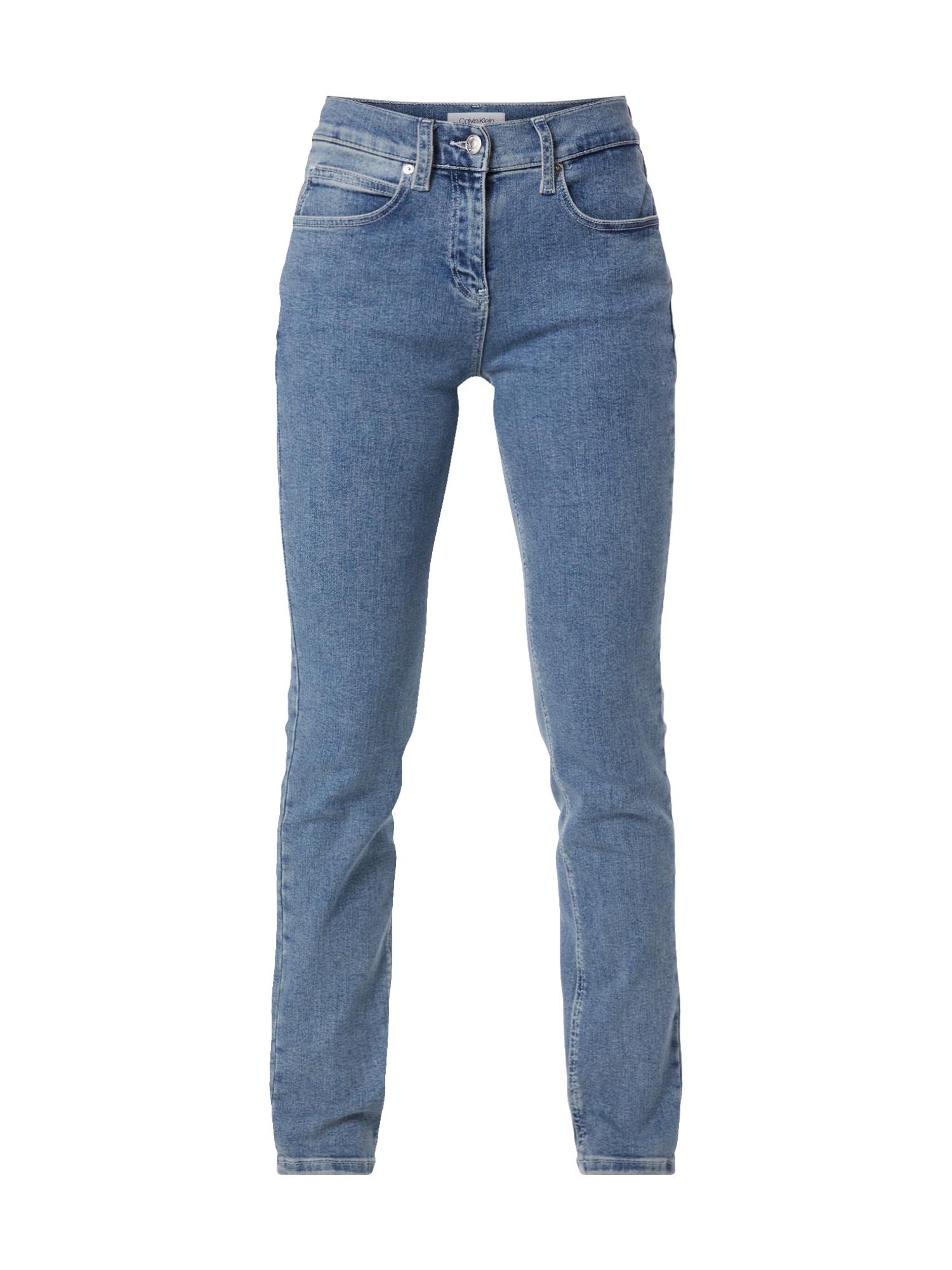 Calvin Klein Džínsy 'SLL 5PKT JEAN'  modré