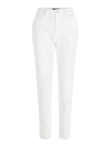 Hosen für Frauen - PIECES Jeans weiß  - Onlineshop ABOUT YOU
