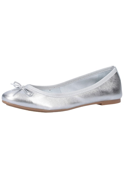 Ballerinas - Ballerinas › marco tozzi › silber  - Onlineshop ABOUT YOU
