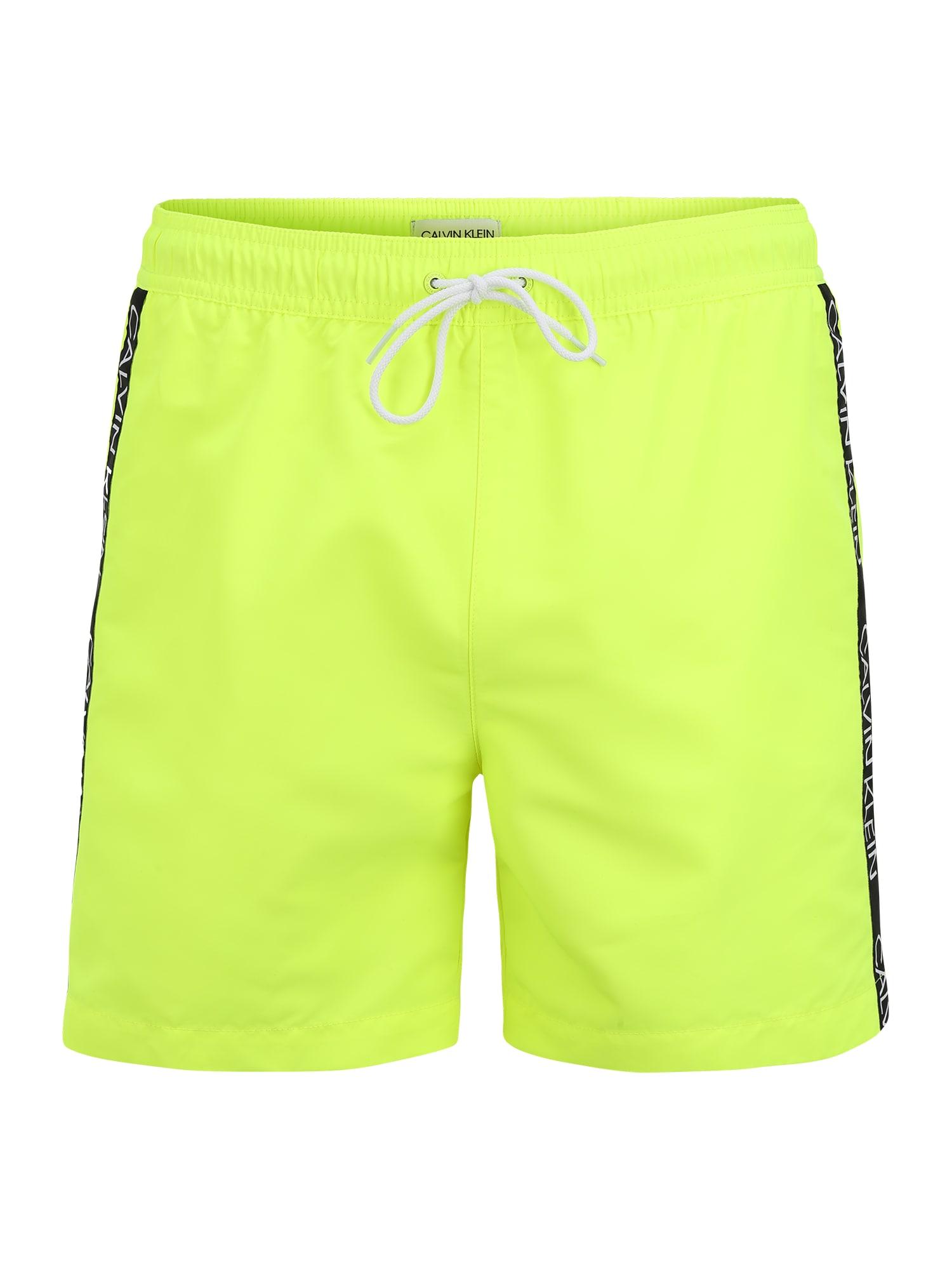 Calvin Klein Swimwear Maudymosi trumpikės geltona