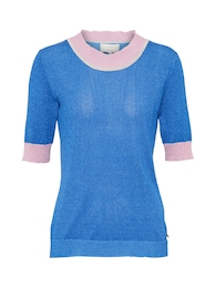 NÜMPH Damen Top CLARISA blau | 05713301158077