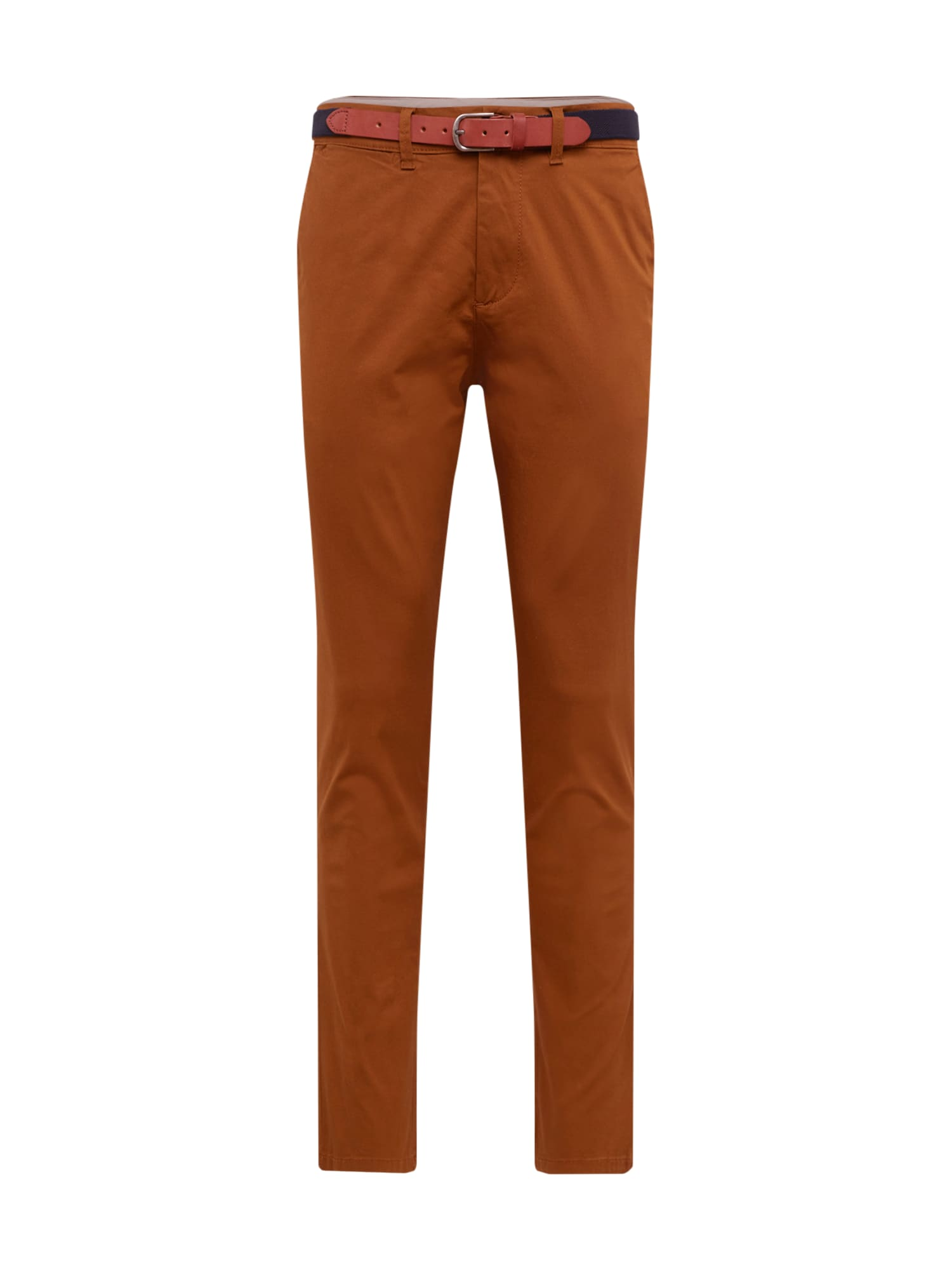 SELECTED HOMME Chino nohavice 'YARD PANTS'  hnedé