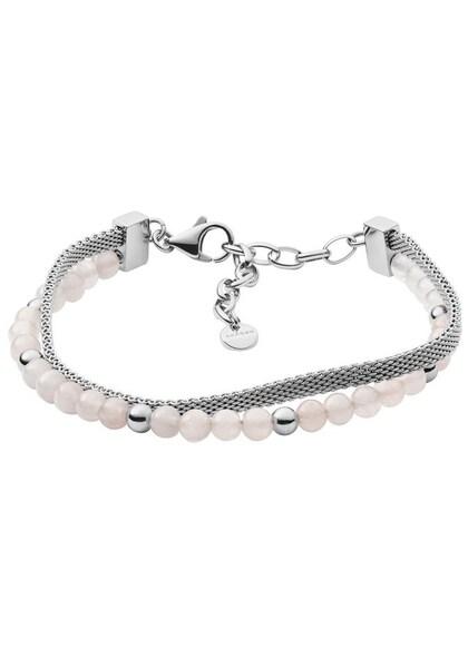 Armbaender für Frauen - SKAGEN Armband 'ANETTE' rosa silber  - Onlineshop ABOUT YOU